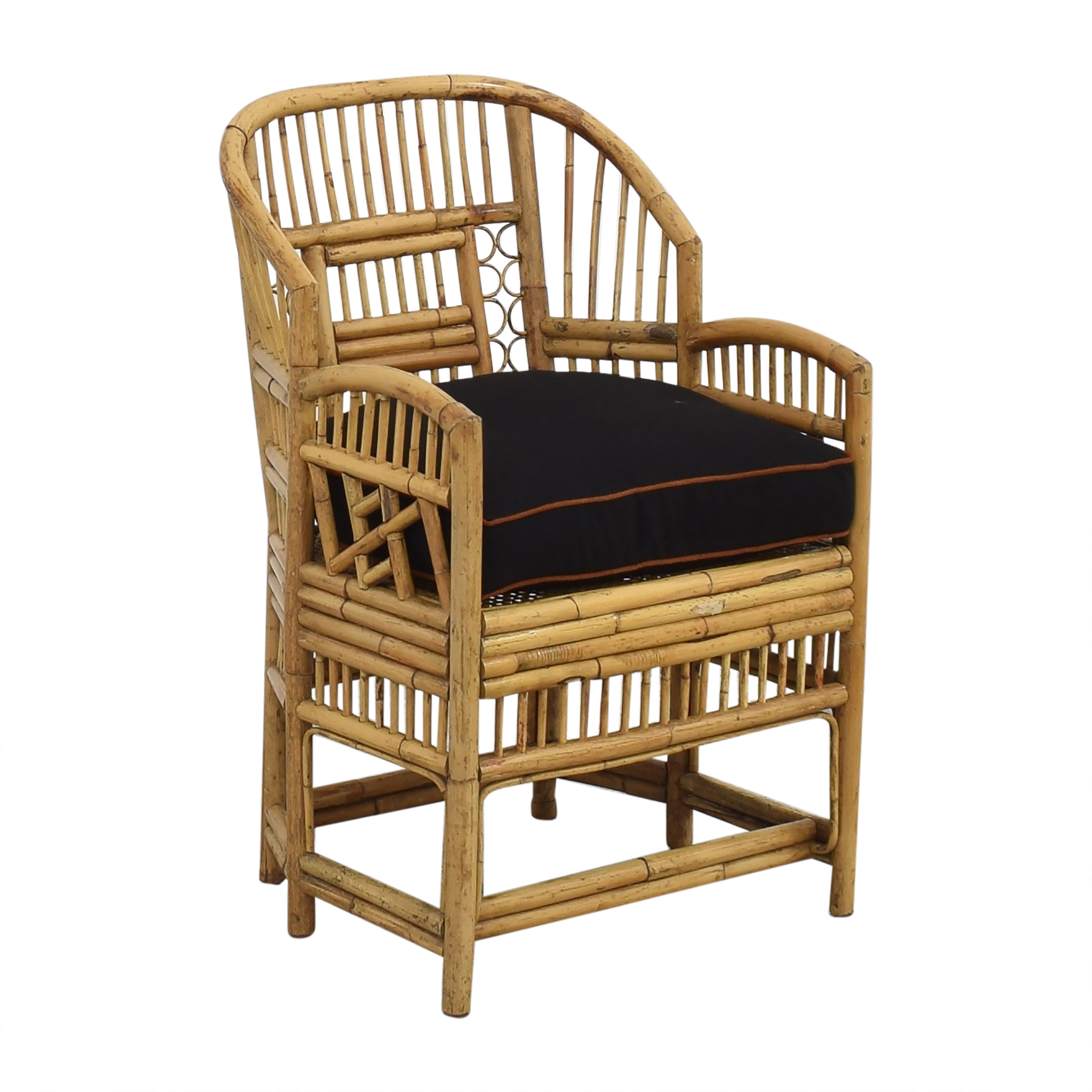 shop Brighton Pavilion Style Bamboo Armchair