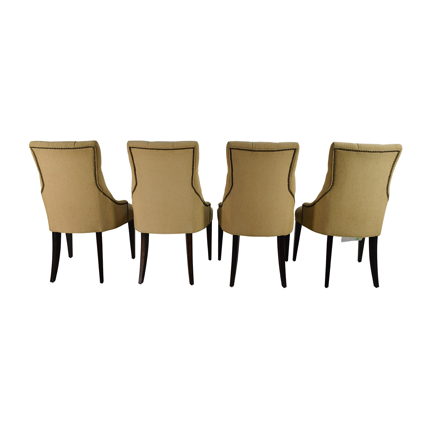 90 off restoration hardware restoration hardware for Tufted dining chairs for sale