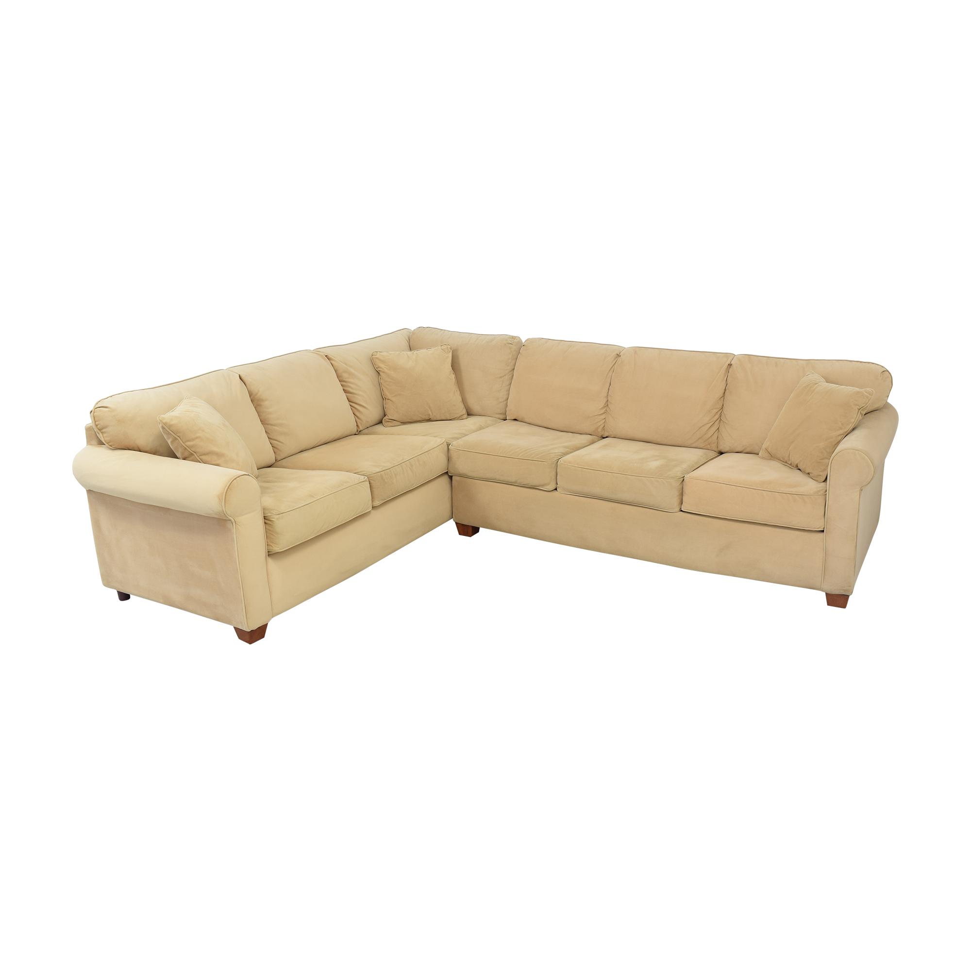 Raymour & Flanigan Raymour & Flanigan Sectional Sofa for sale