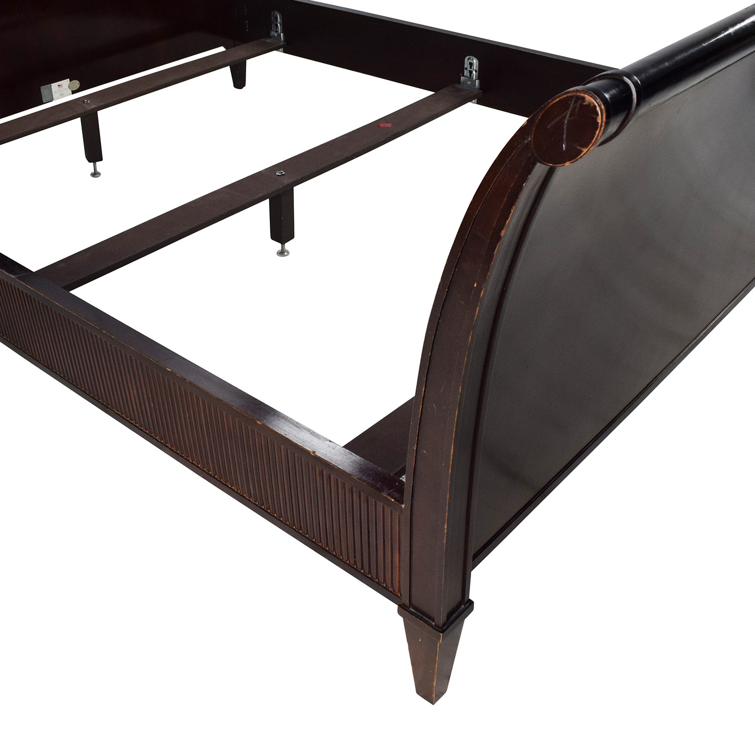 90 OFF Barbara Barry Barbara Barry Baker Queen Sleigh Bed Beds