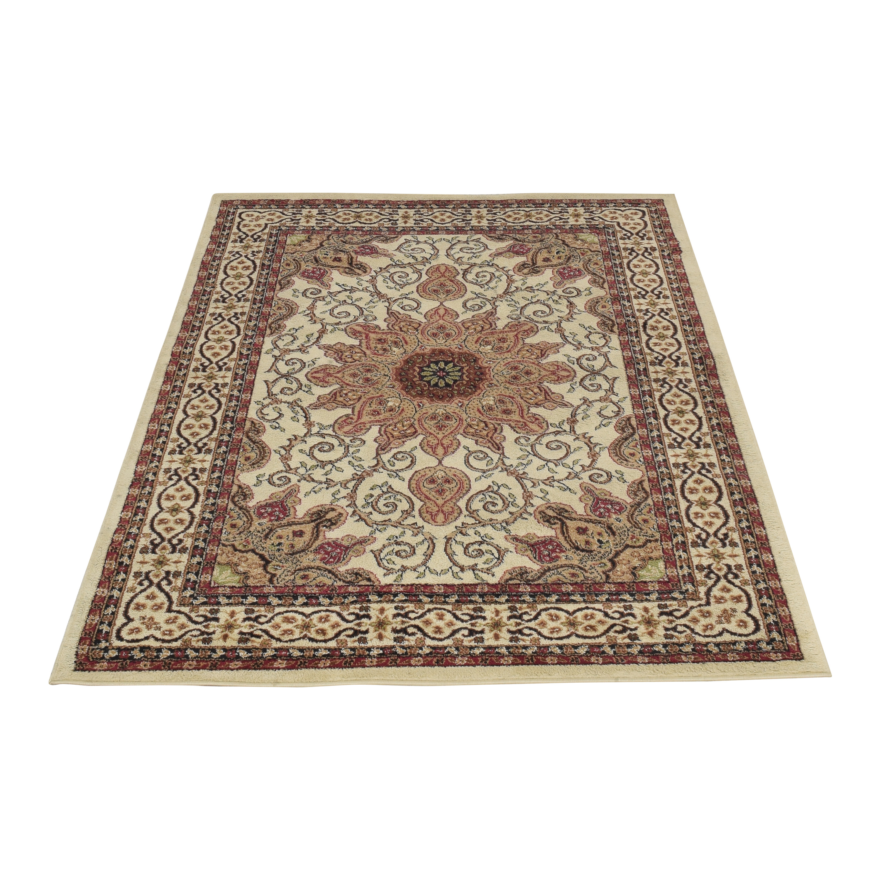 Persian Style Area Rug second hand