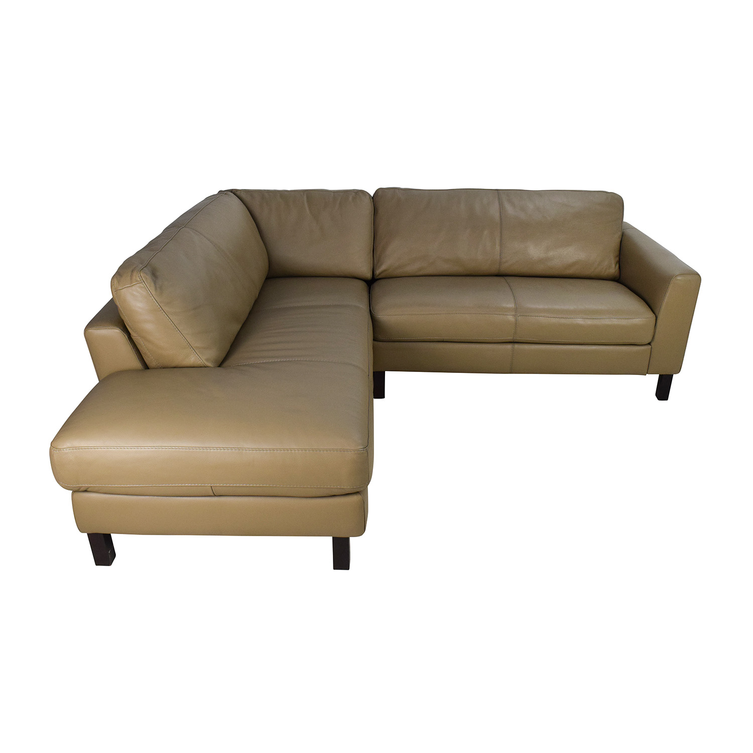 buy Bloomingdales Leather Sectional Bloomingdales Sofas