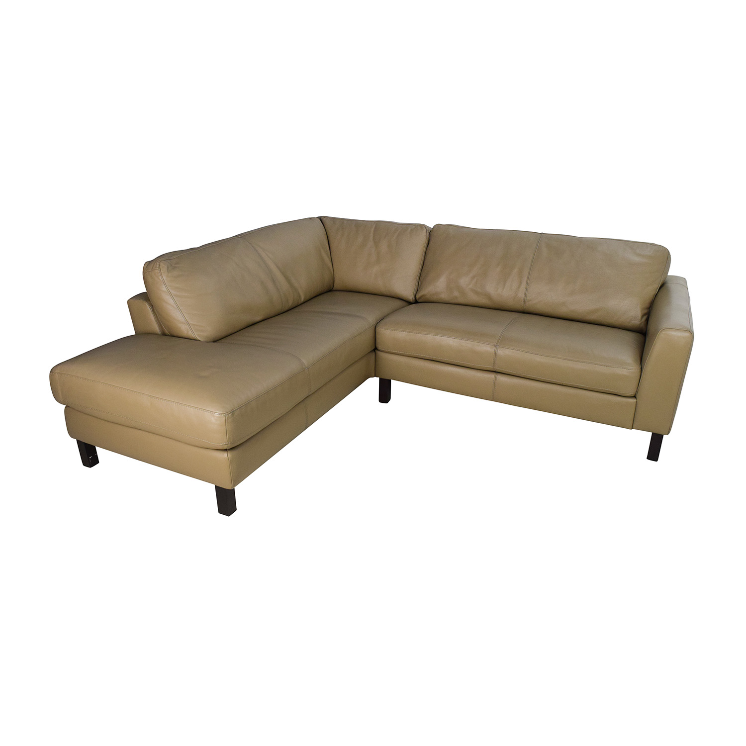 Bloomingdales Leather Sectional Sofas