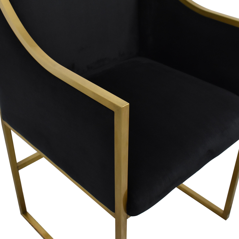 Tov TOV Furniture Atara Velvet Chair Chairs