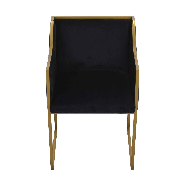 buy TOV Furniture Atara Velvet Chair Tov Accent Chairs