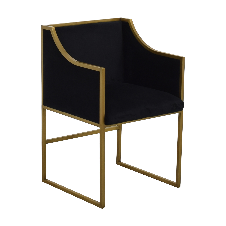 Tov TOV Furniture Atara Velvet Chair dimensions