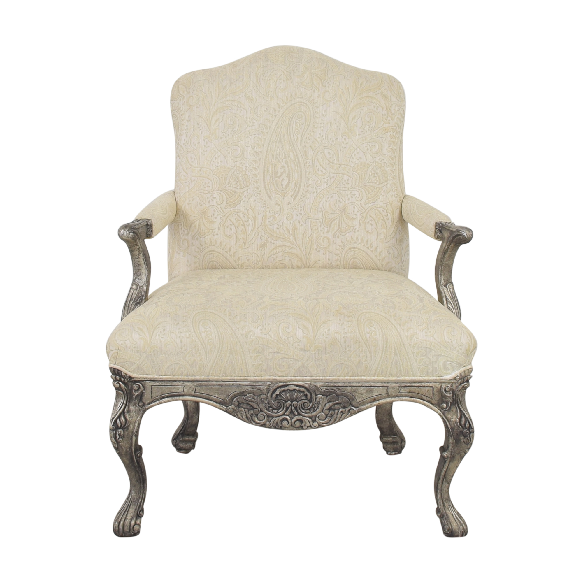 Lillian August Lillian August Paisley Arm Chair used