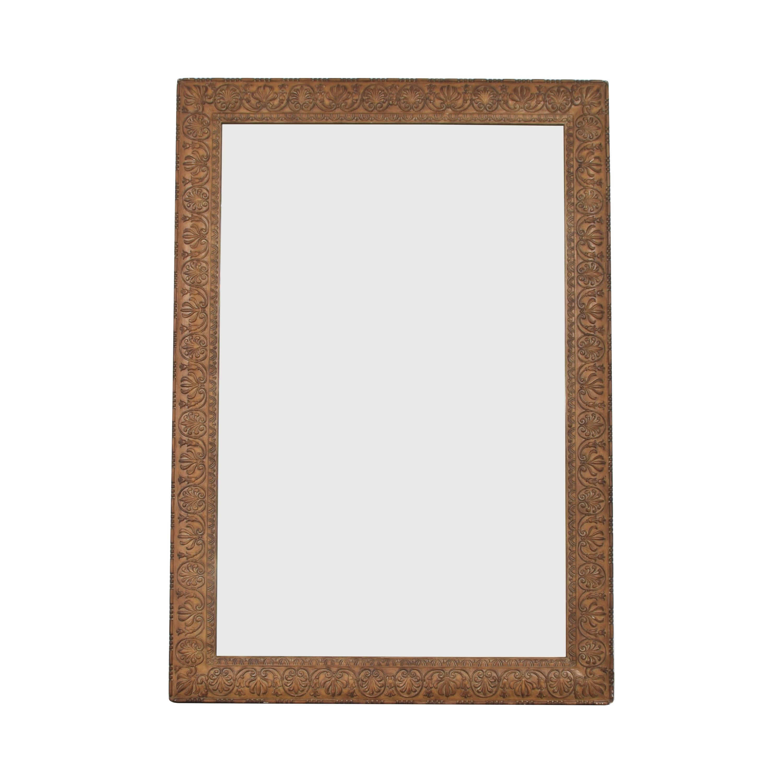 Rectangular Framed Floor Mirror used