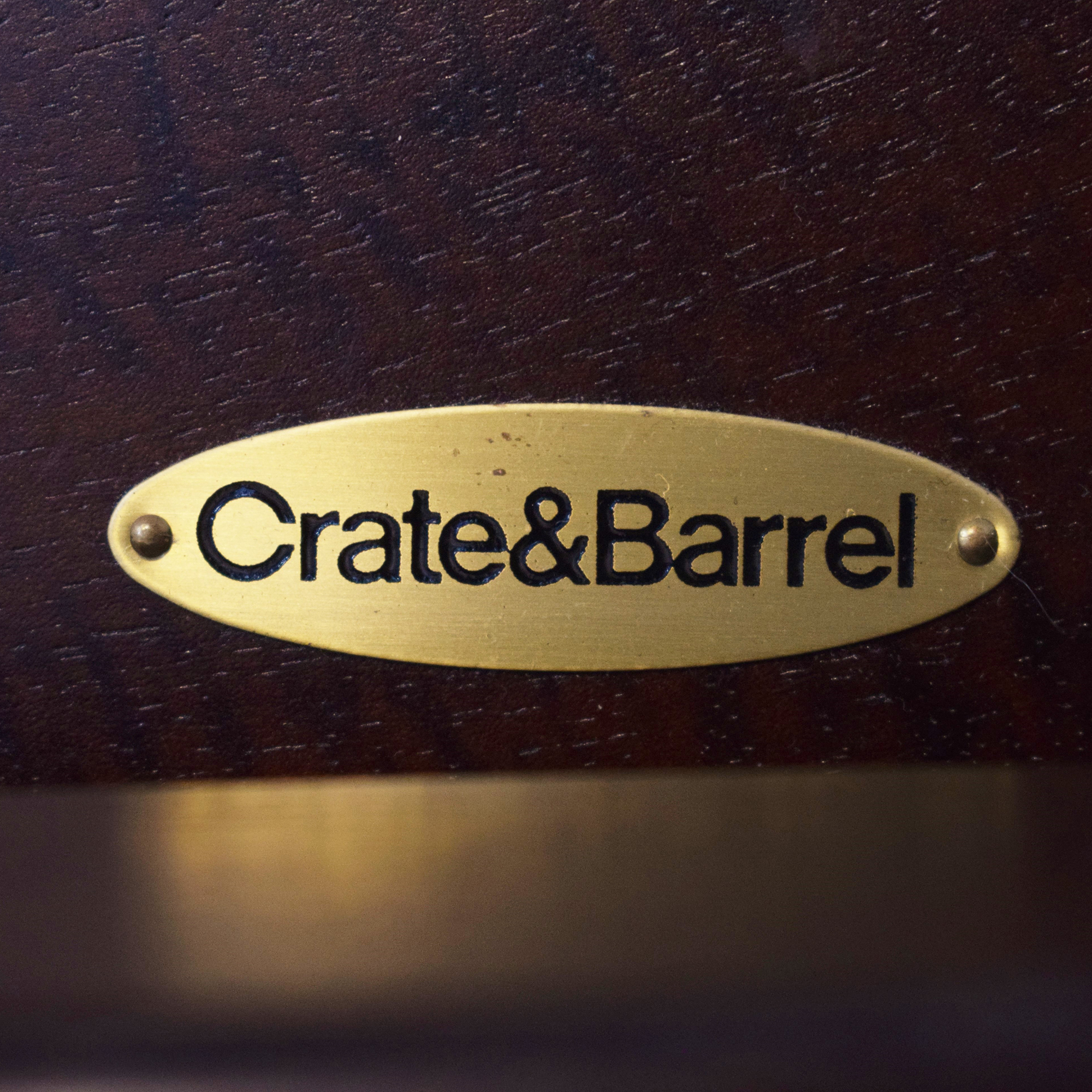 Crate & Barrel King Bed sale