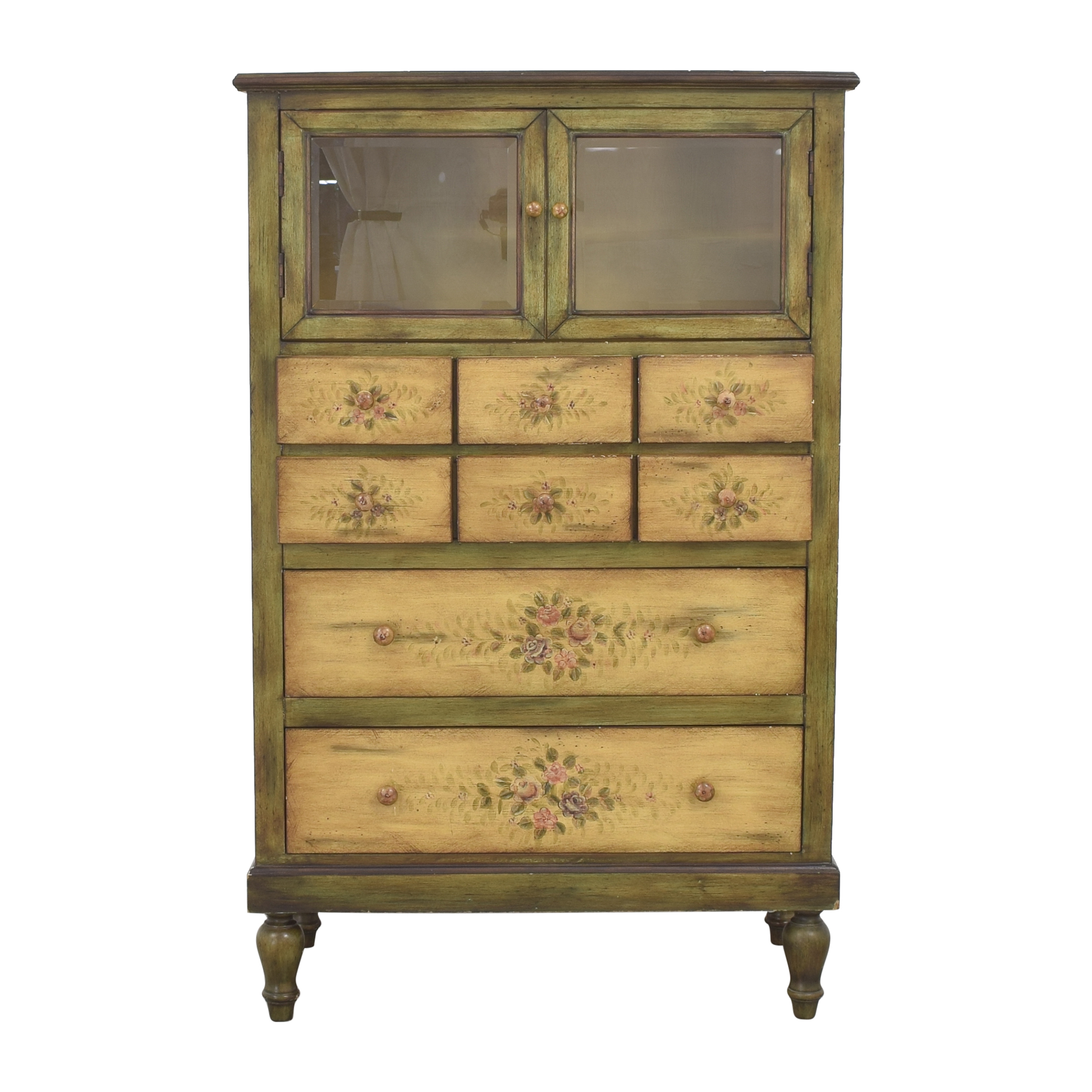 Peter Andrews Peter Andrews Vintage Style Painted Cabinet on sale