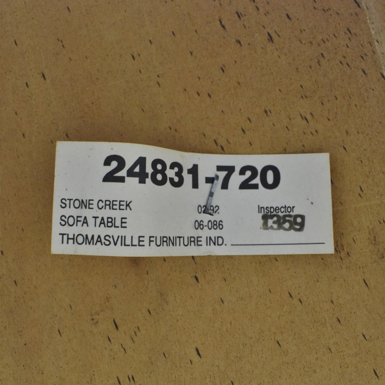 Thomasville Thomasville Sofa Table second hand