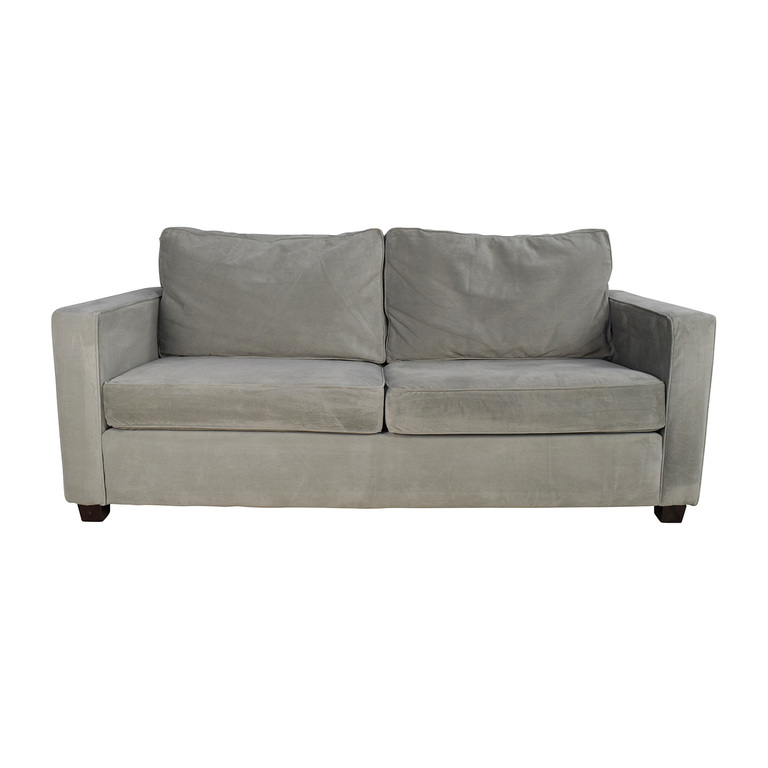 West Elm Henry Microfiber Sofa sale