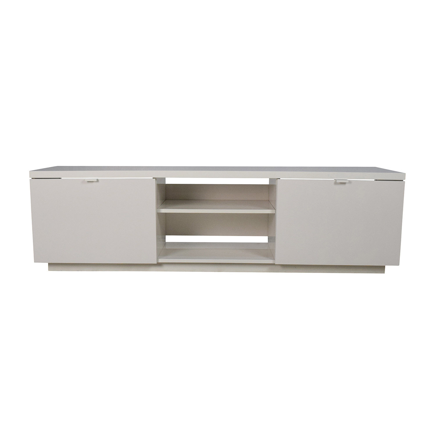 53 off ikea ikea white tv media unit storage. Black Bedroom Furniture Sets. Home Design Ideas