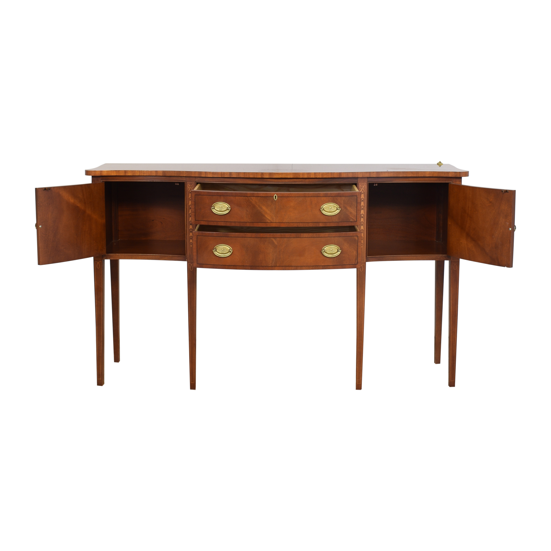 Ethan Allen Ethan Allen 18th Century Collection Sofa Table brown