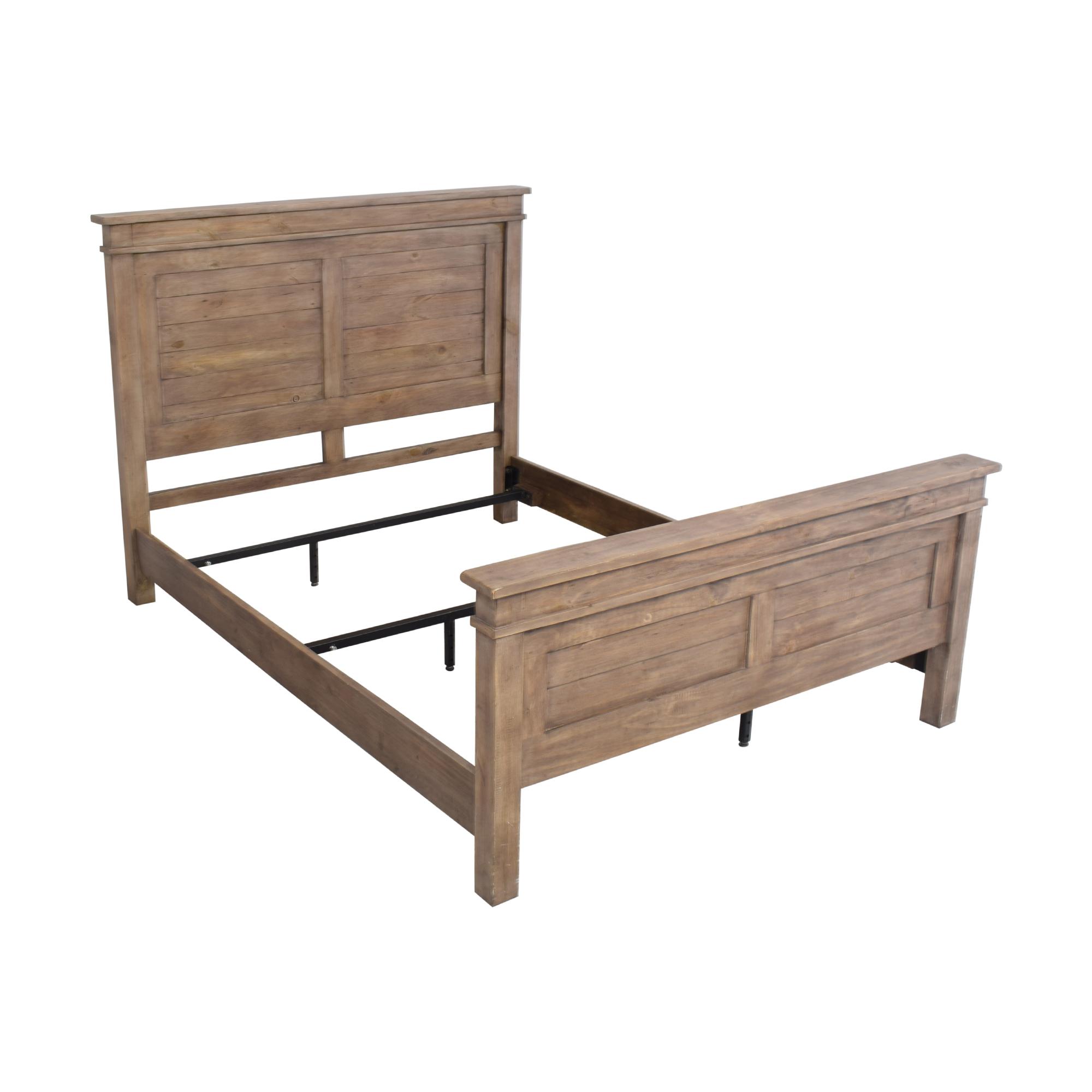 Zin Home Zin Home Sierra Reclaimed Wood Platform Queen Bed Brown
