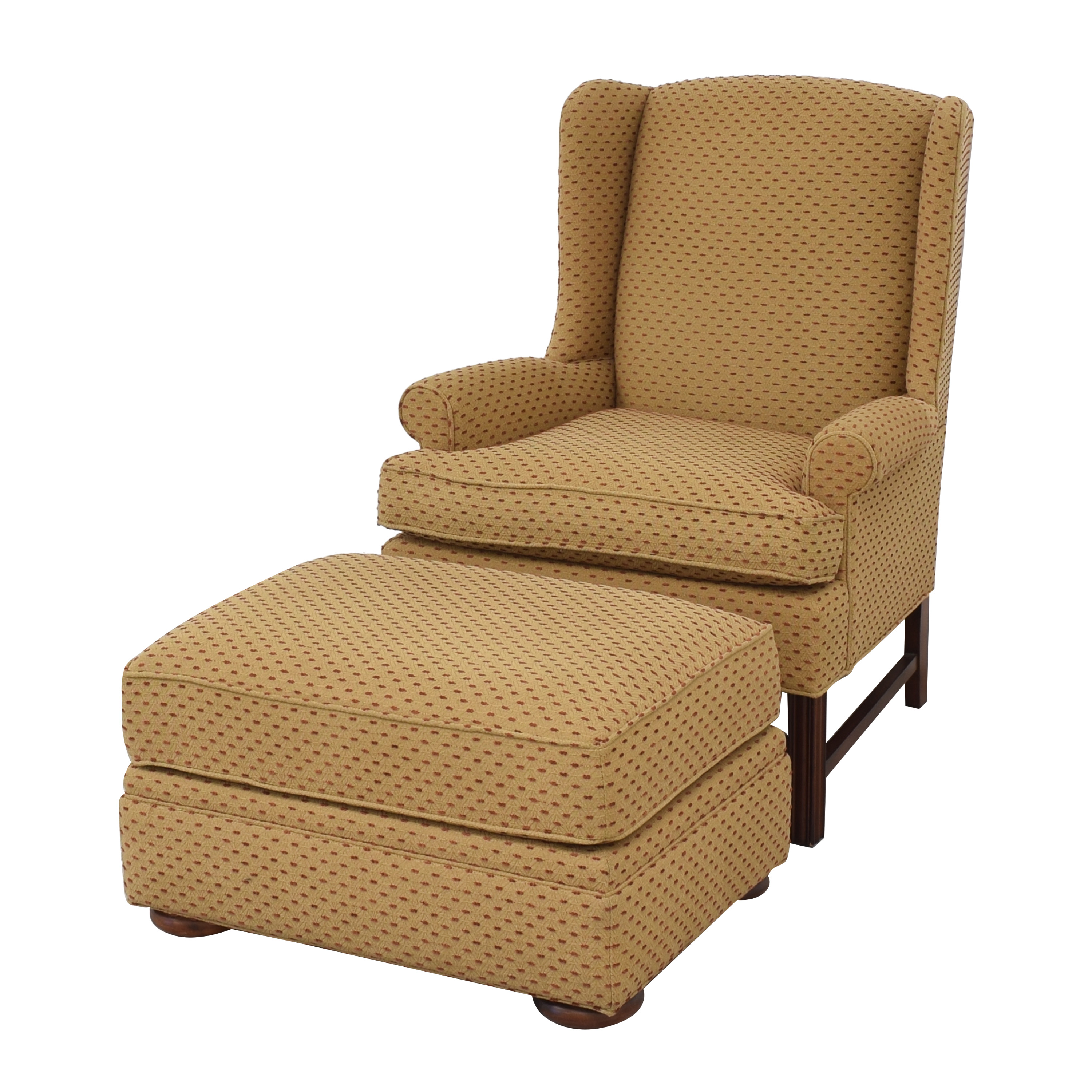 Thomasville Accent Chair with Ottoman / Accent Chairs