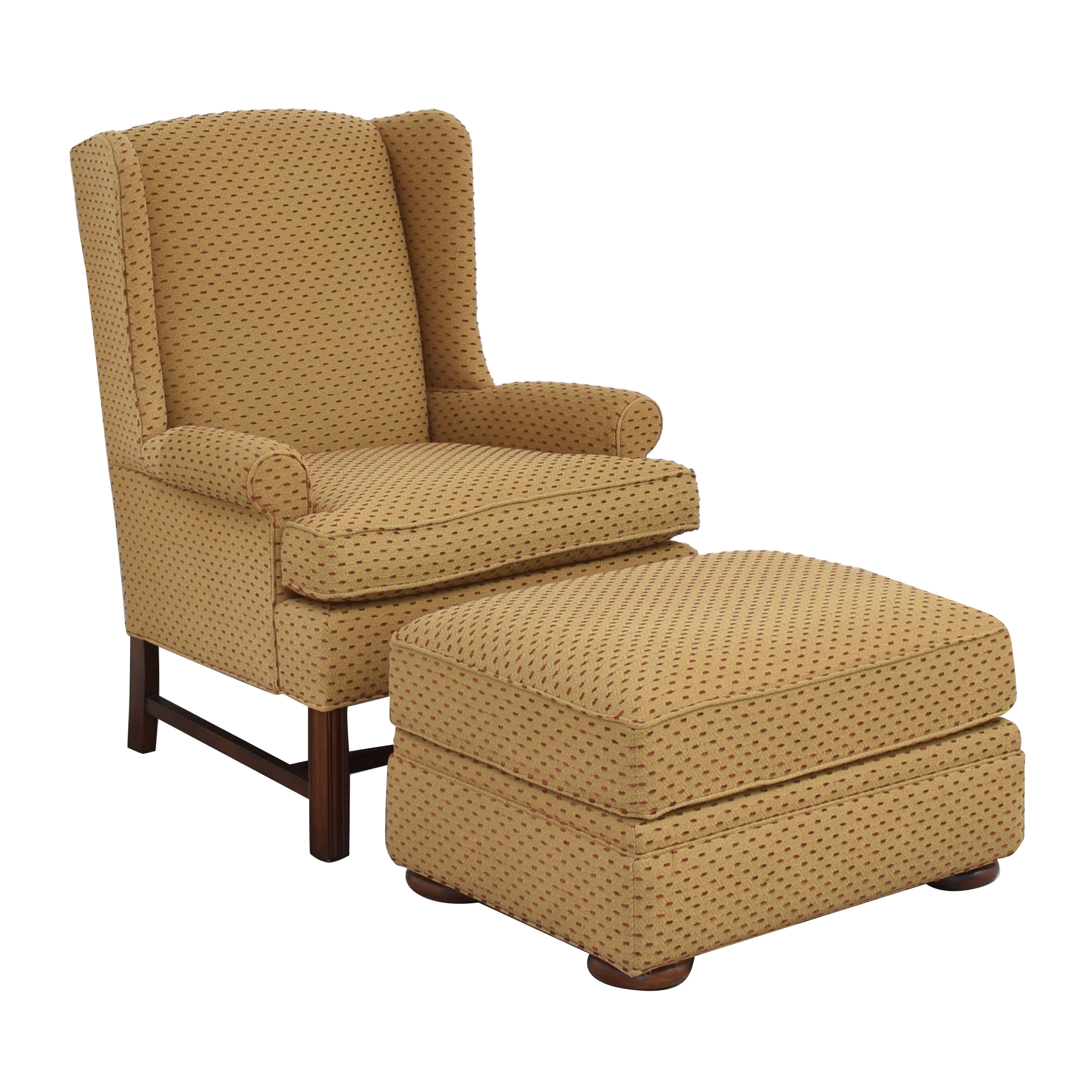 Thomasville Thomasville Accent Chair with Ottoman used