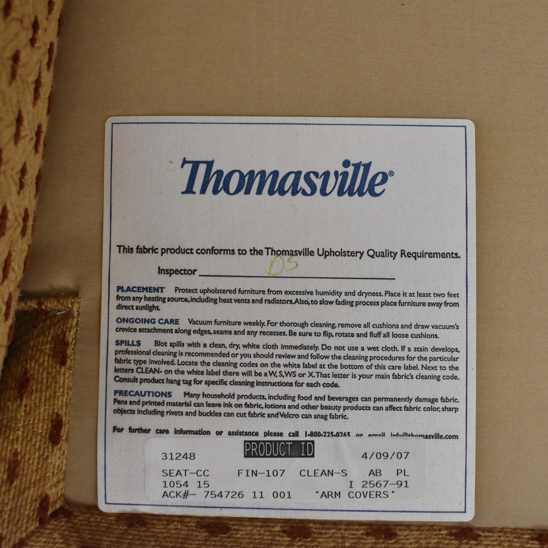 Thomasville Thomasville Accent Chair with Ottoman nj