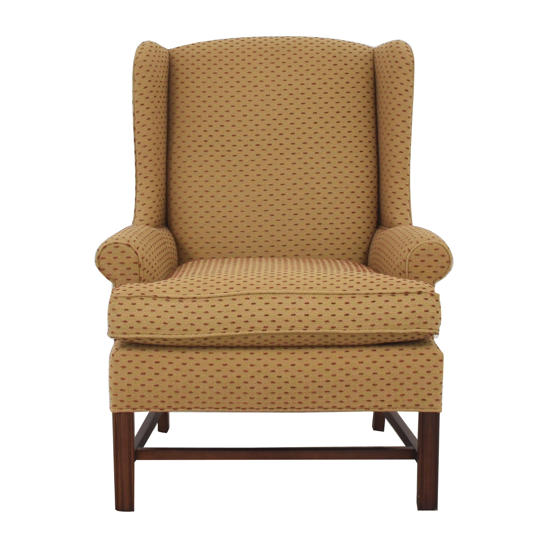 Thomasville Thomasville Accent Chair with Ottoman
