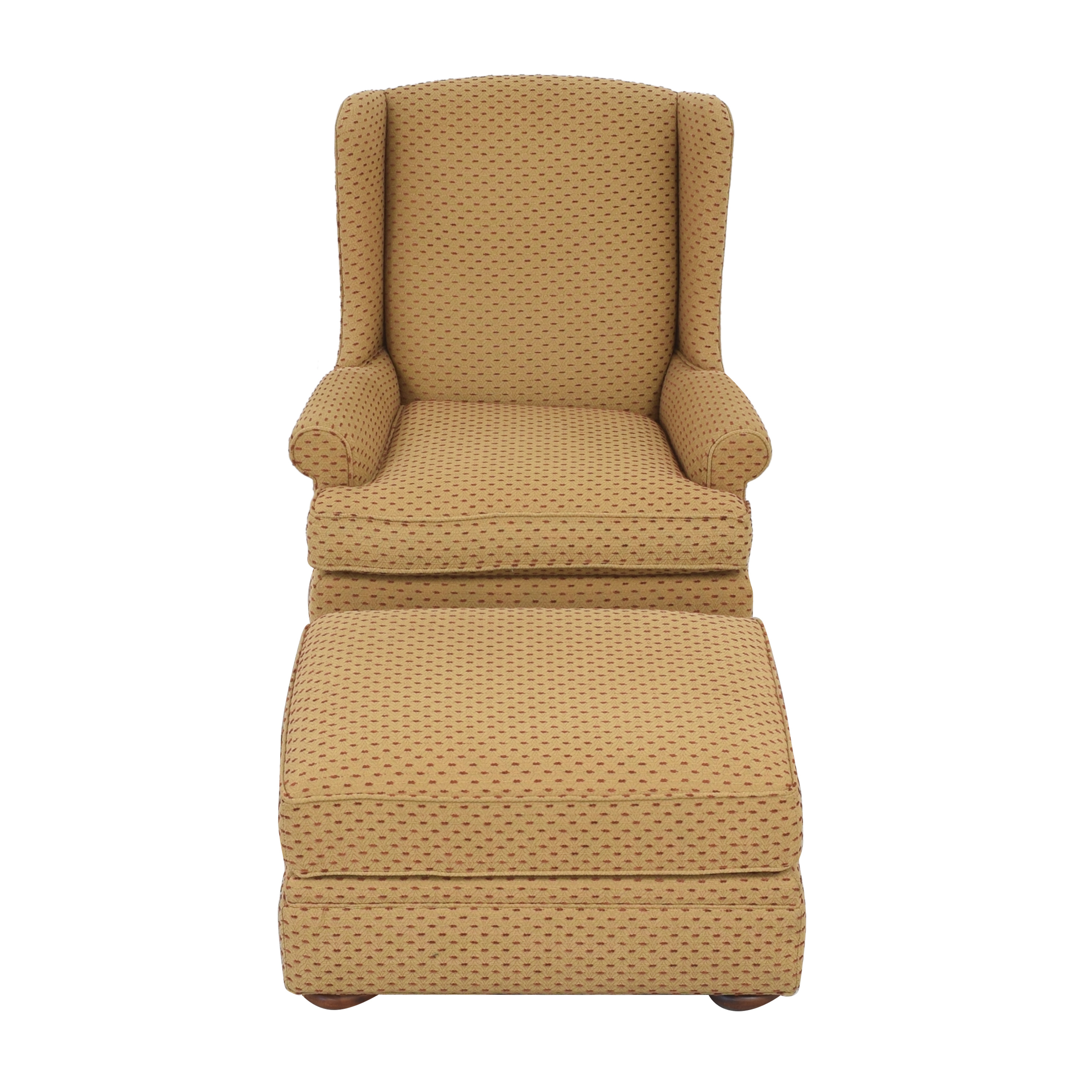 buy Thomasville Accent Chair with Ottoman Thomasville Chairs
