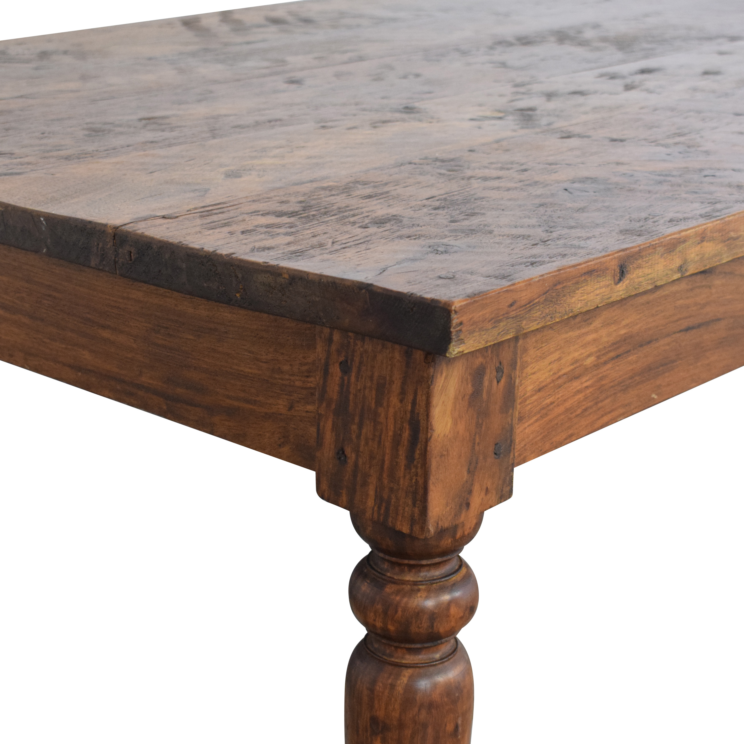 Crate & Barrel Crate & Barrel Weathered Coffee Table ct