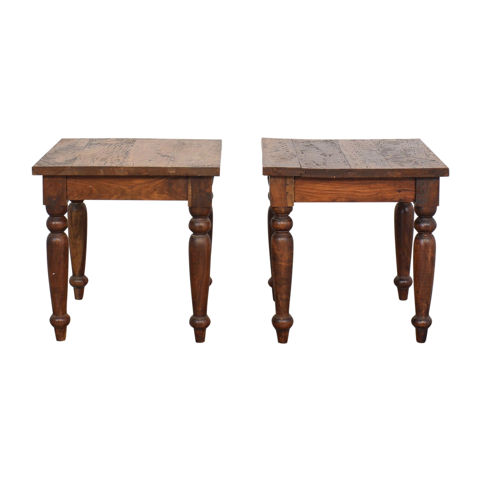 Crate & Barrel End Tables / Tables