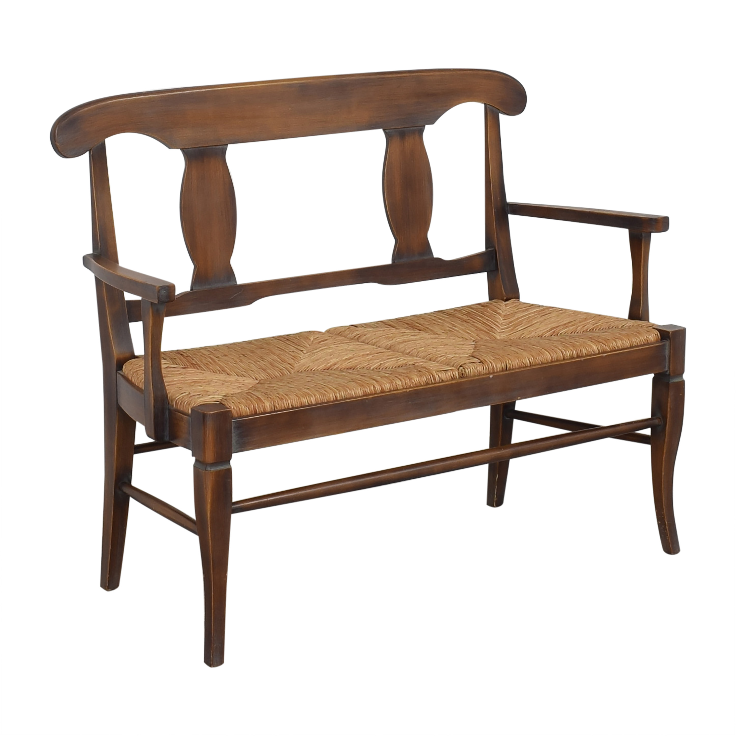 Crate & Barrel Crate & Barrel Rush Seat Bench Benches