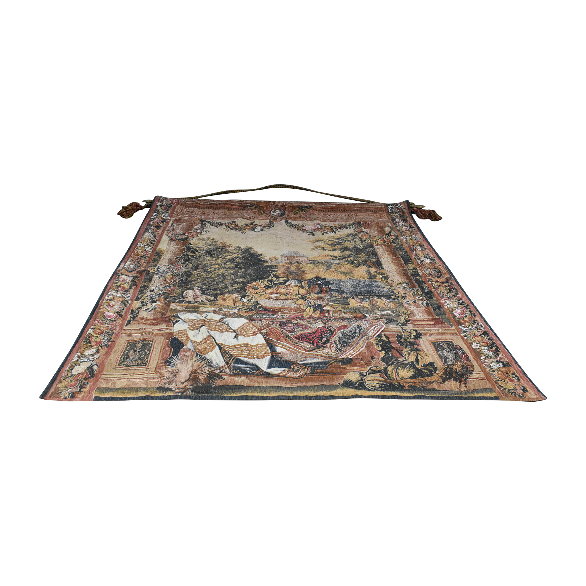 Decorative Versailles Still Life Tapestry dimensions