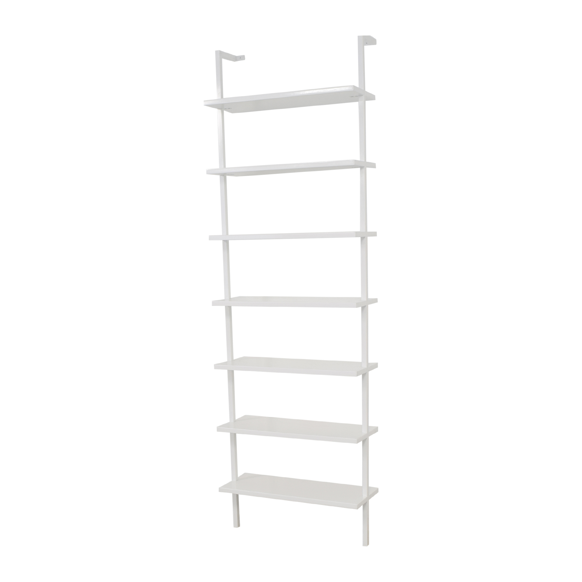 CB2 CB2 Stairway Wall Mounted Bookcase white
