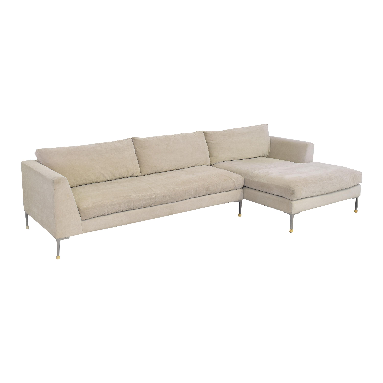 ABC Carpet & Home Cobble Hill Oxford Sectional Sofa / Sofas