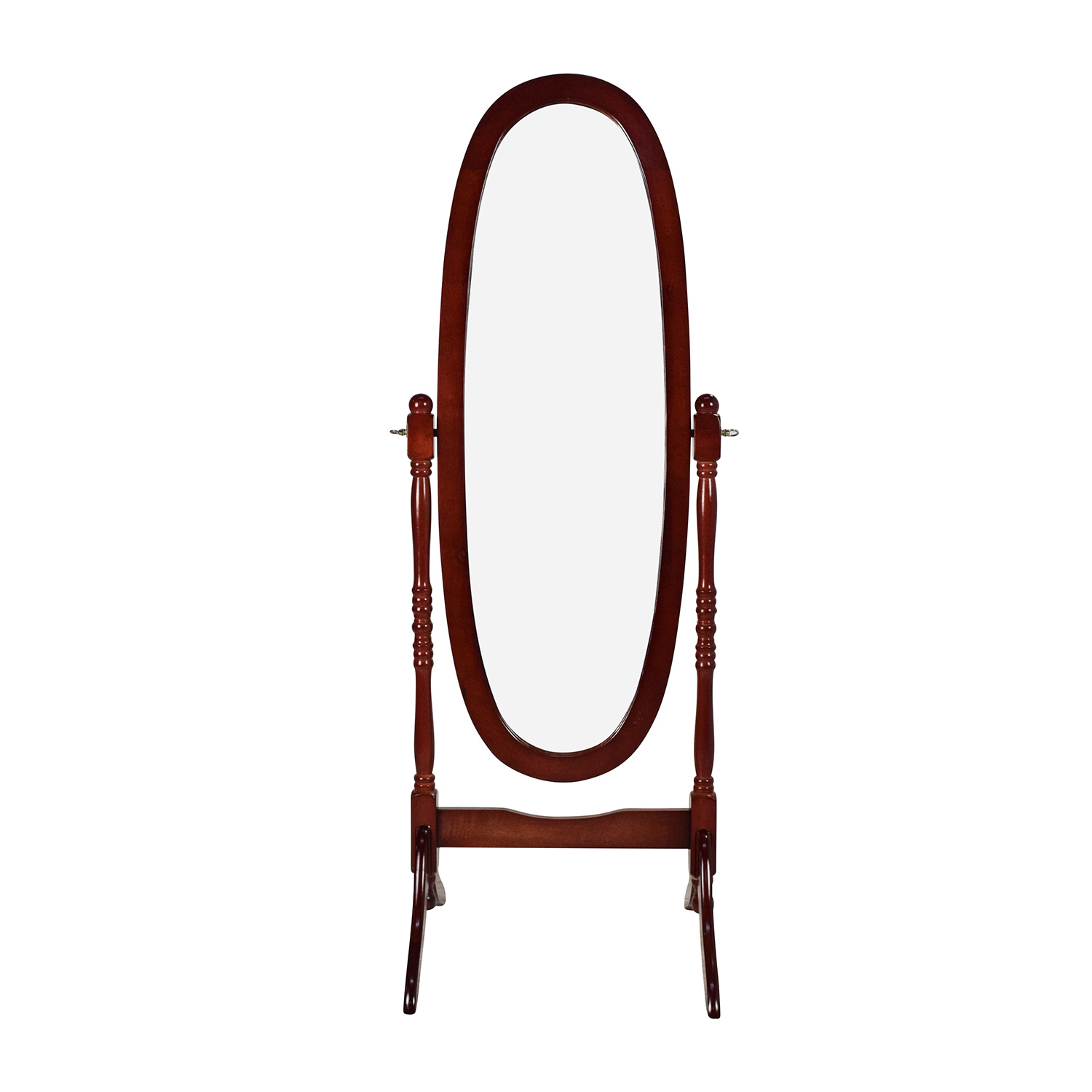 Large Wooden Frame Mirror dimensions
