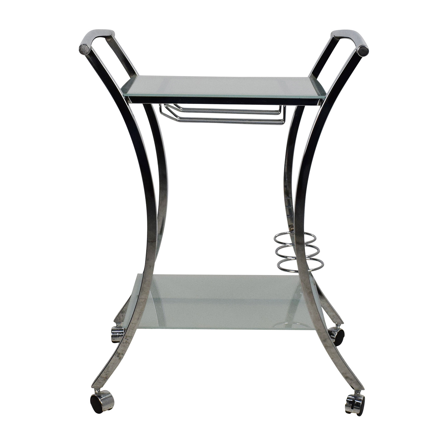 Rolling Food Serving Cart on sale