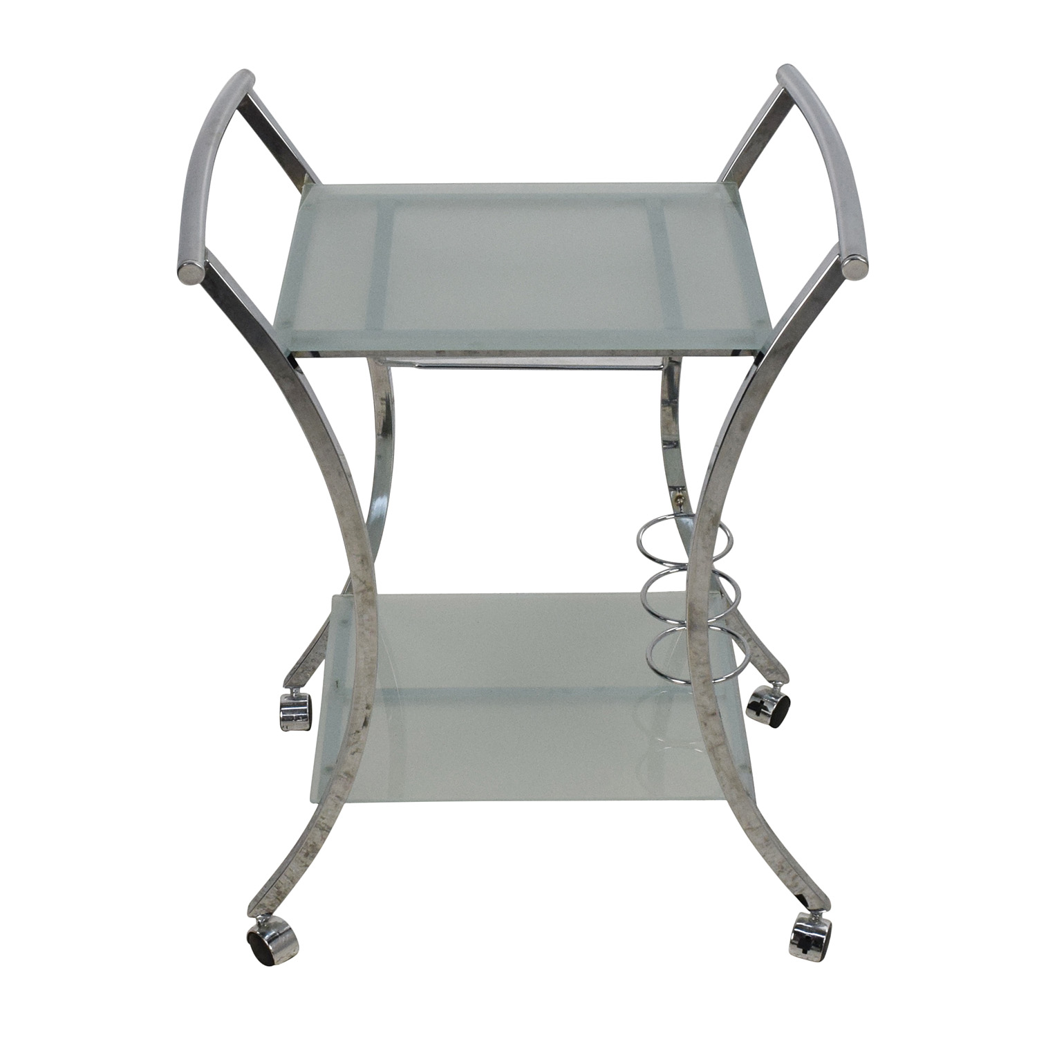Rolling Food Serving Cart Tables