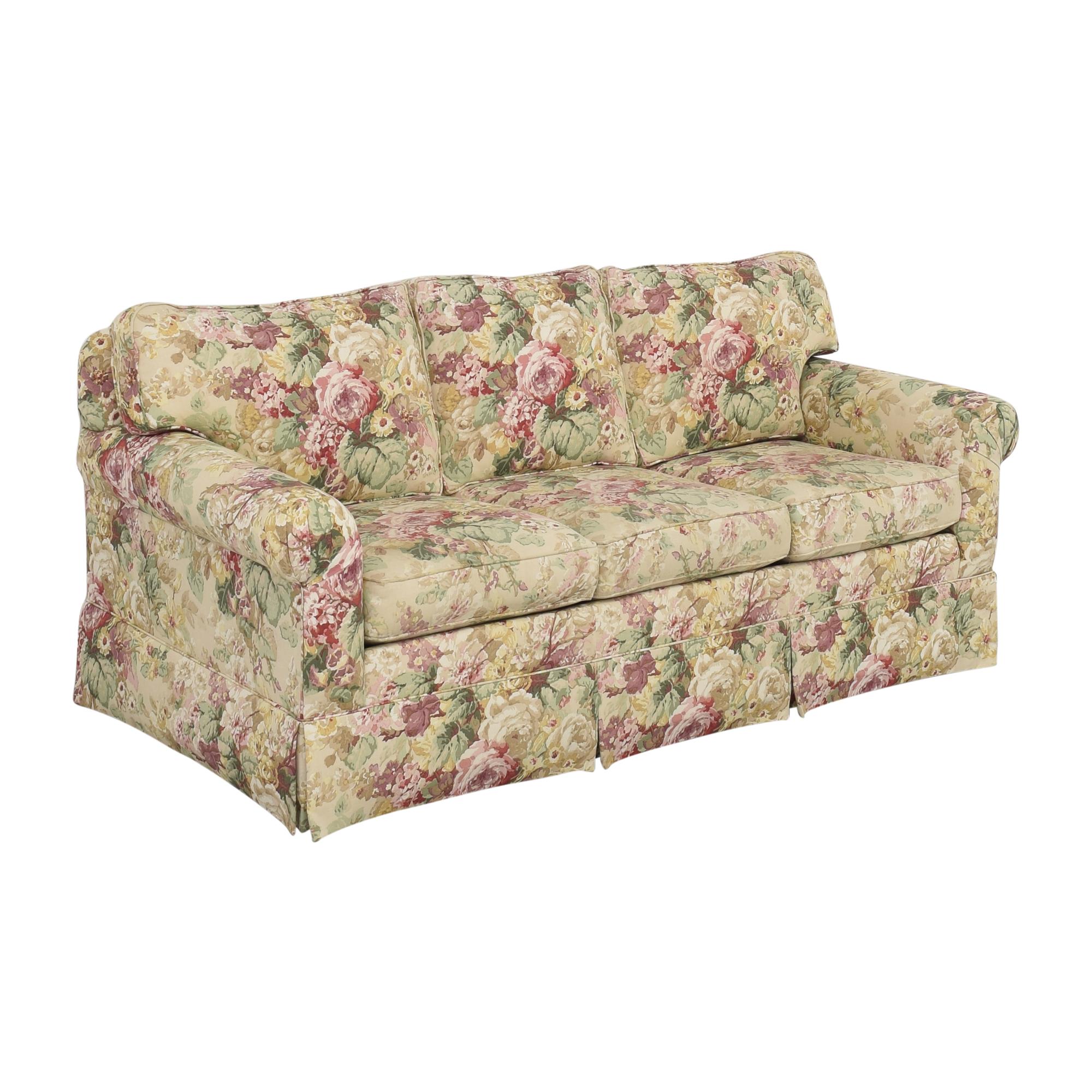 Ethan Allen Ethan Allen Floral Three Cushion Sofa for sale