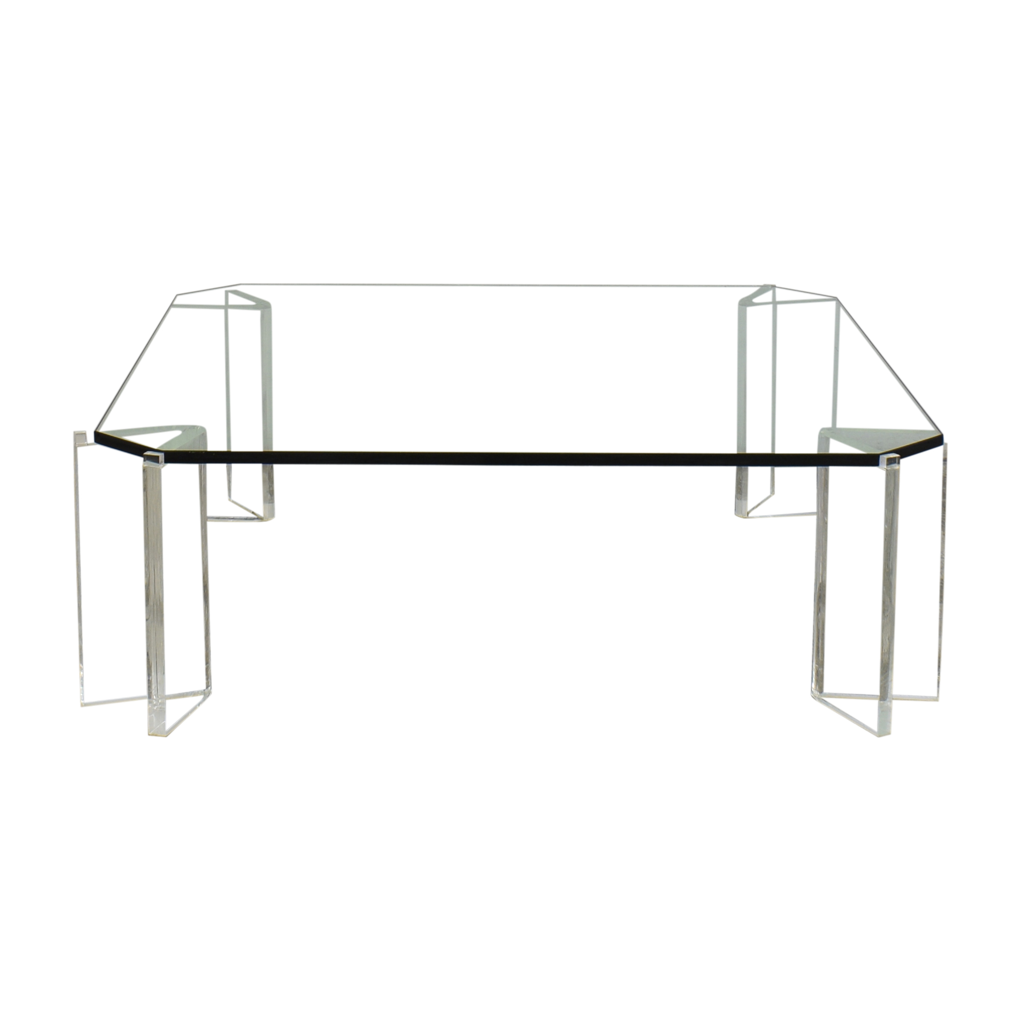 buy  Glass and Acrylic Coffee Table online