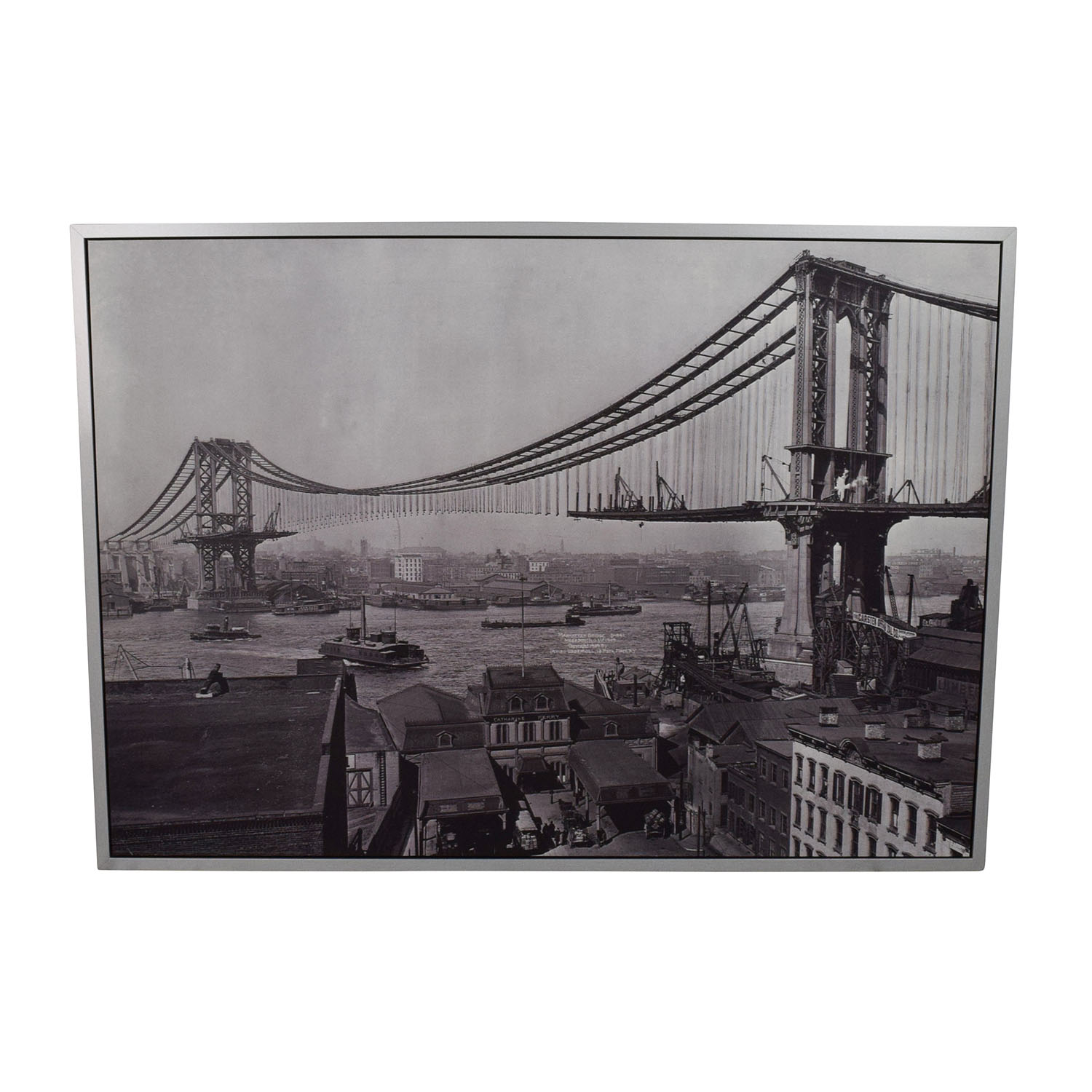 Manhattan Bridge Wall Art on sale