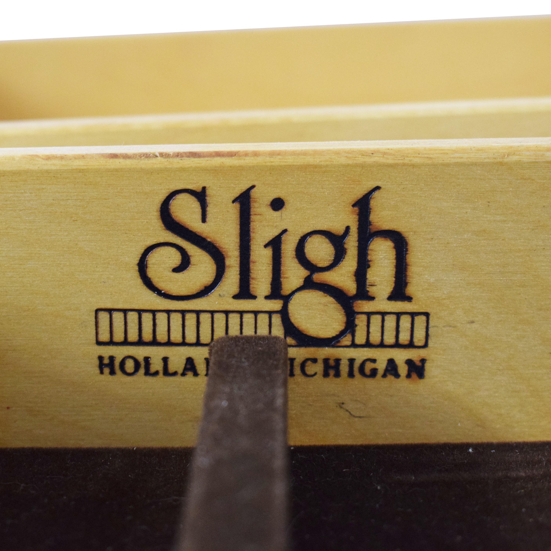 Sligh Furniture Sligh Bookcase Desk ma
