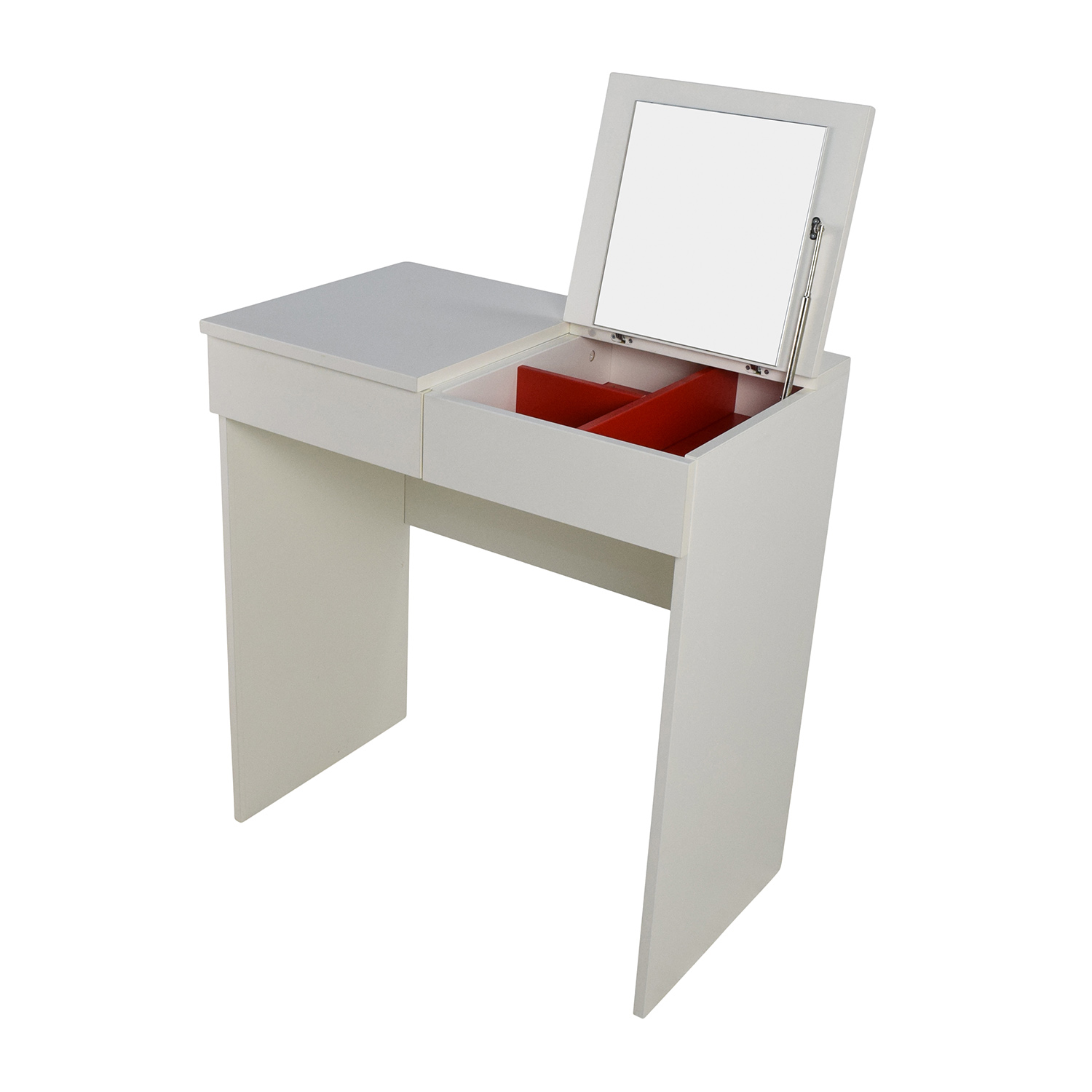 53 Off Ikea Ikea White Vanity Table Tables