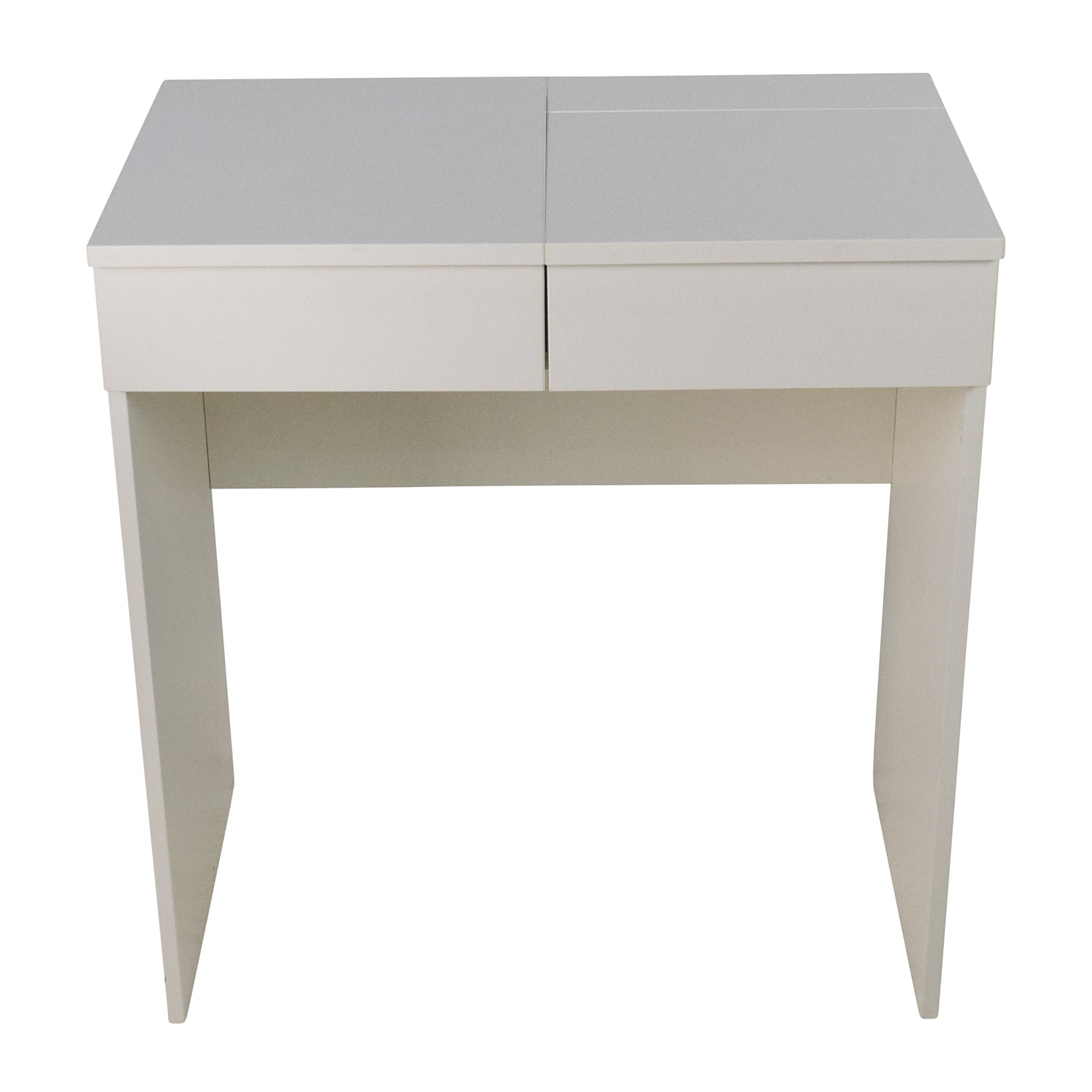 shop IKEA White Vanity Table IKEA Accent Tables