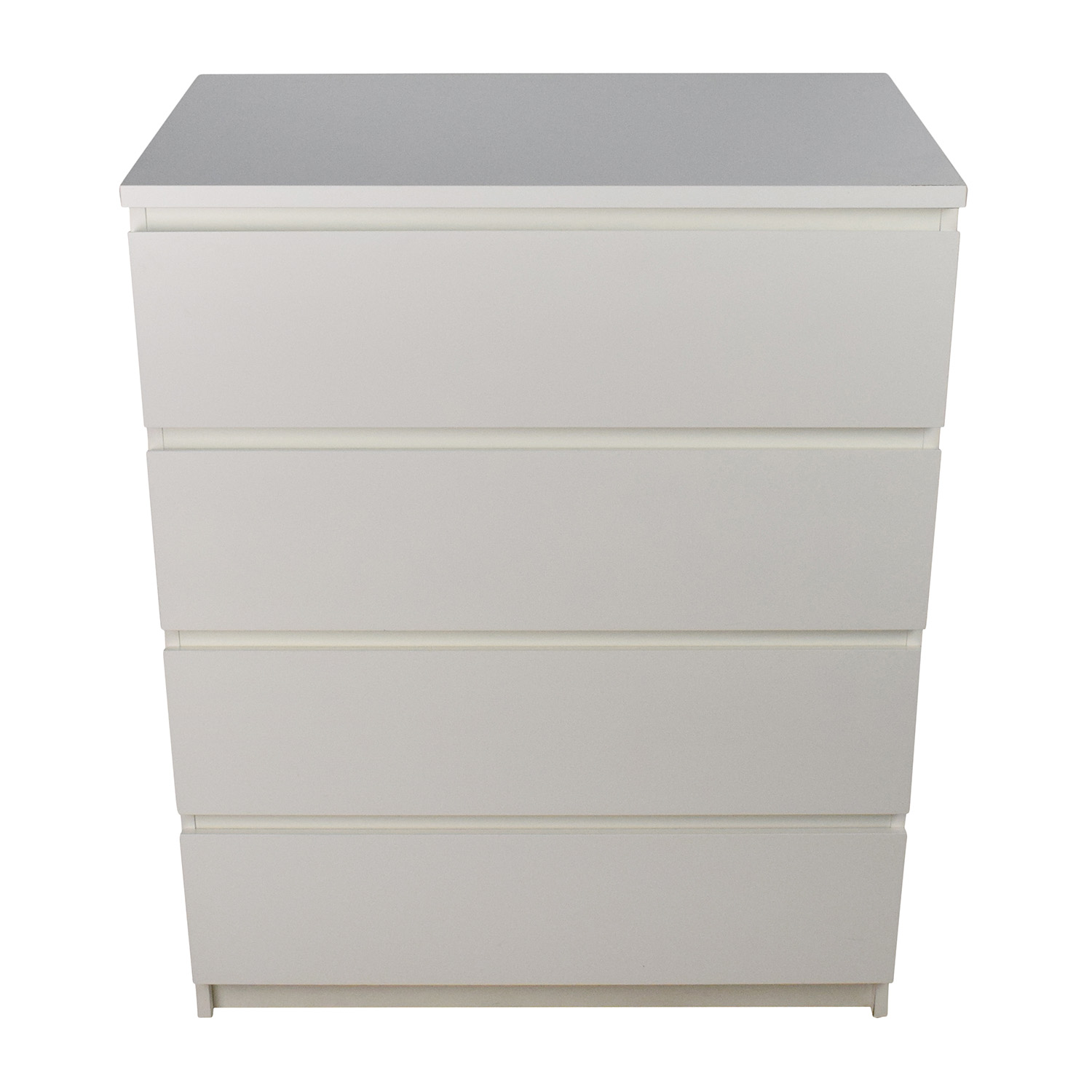 White 4-Drawer Dresser