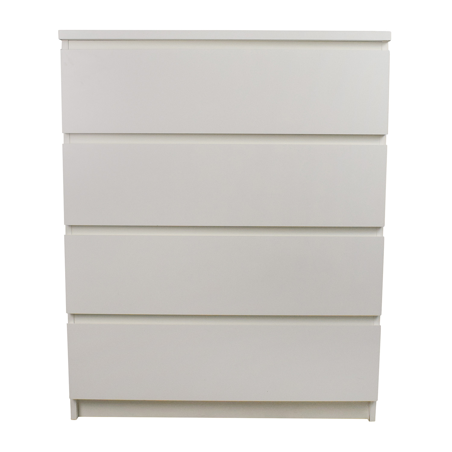 White 4-Drawer Dresser dimensions