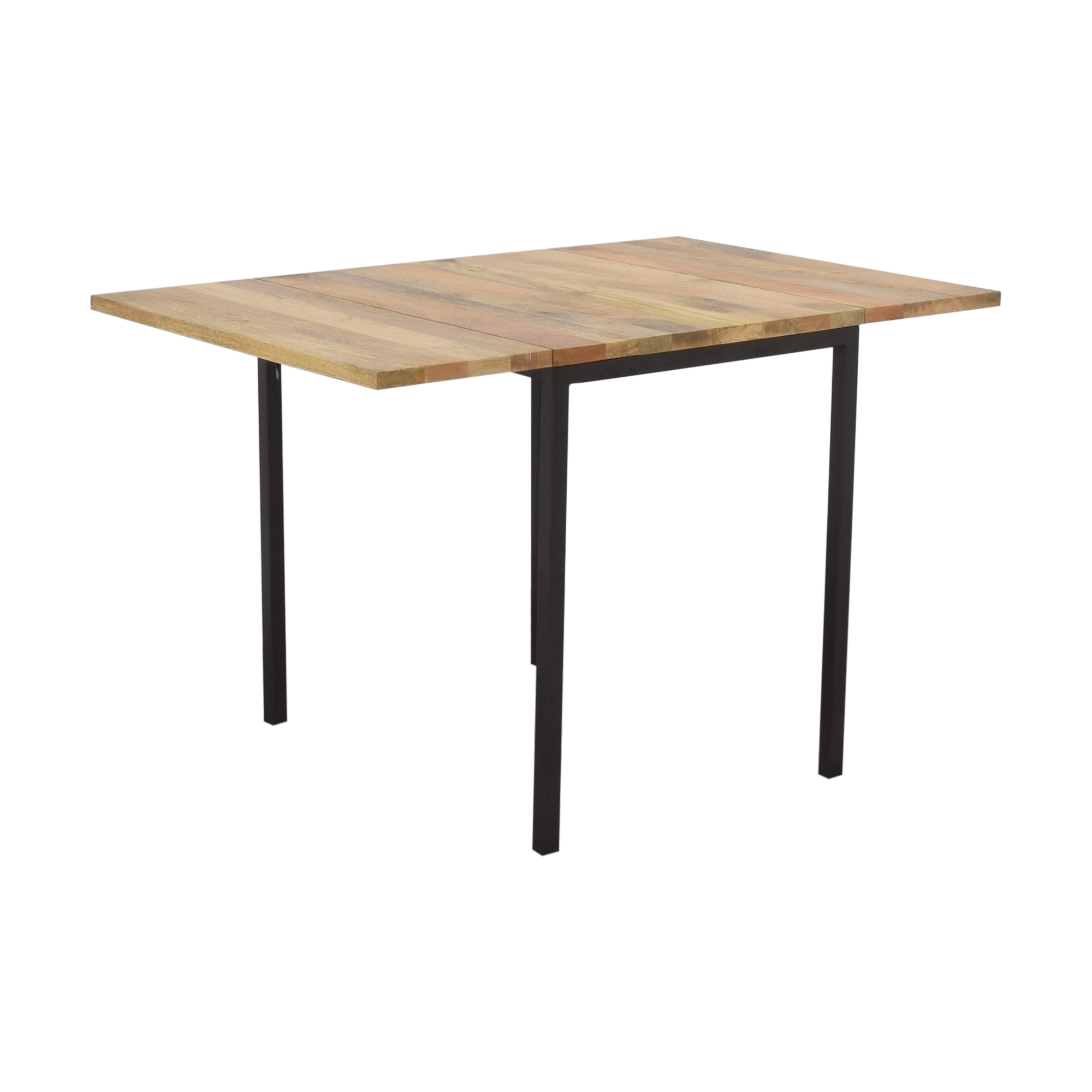 shop West Elm Box Frame Drop Leaf Dining Table West Elm Dinner Tables