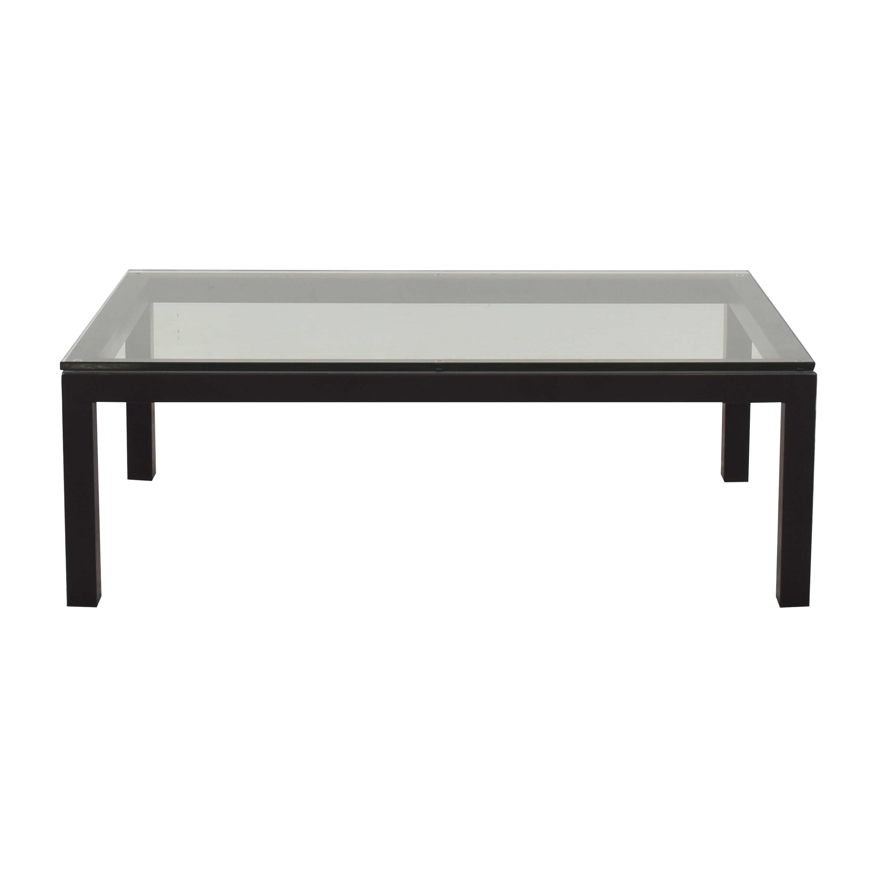 buy Crate & Barrel Parsons Coffee Table Crate & Barrel Coffee Tables