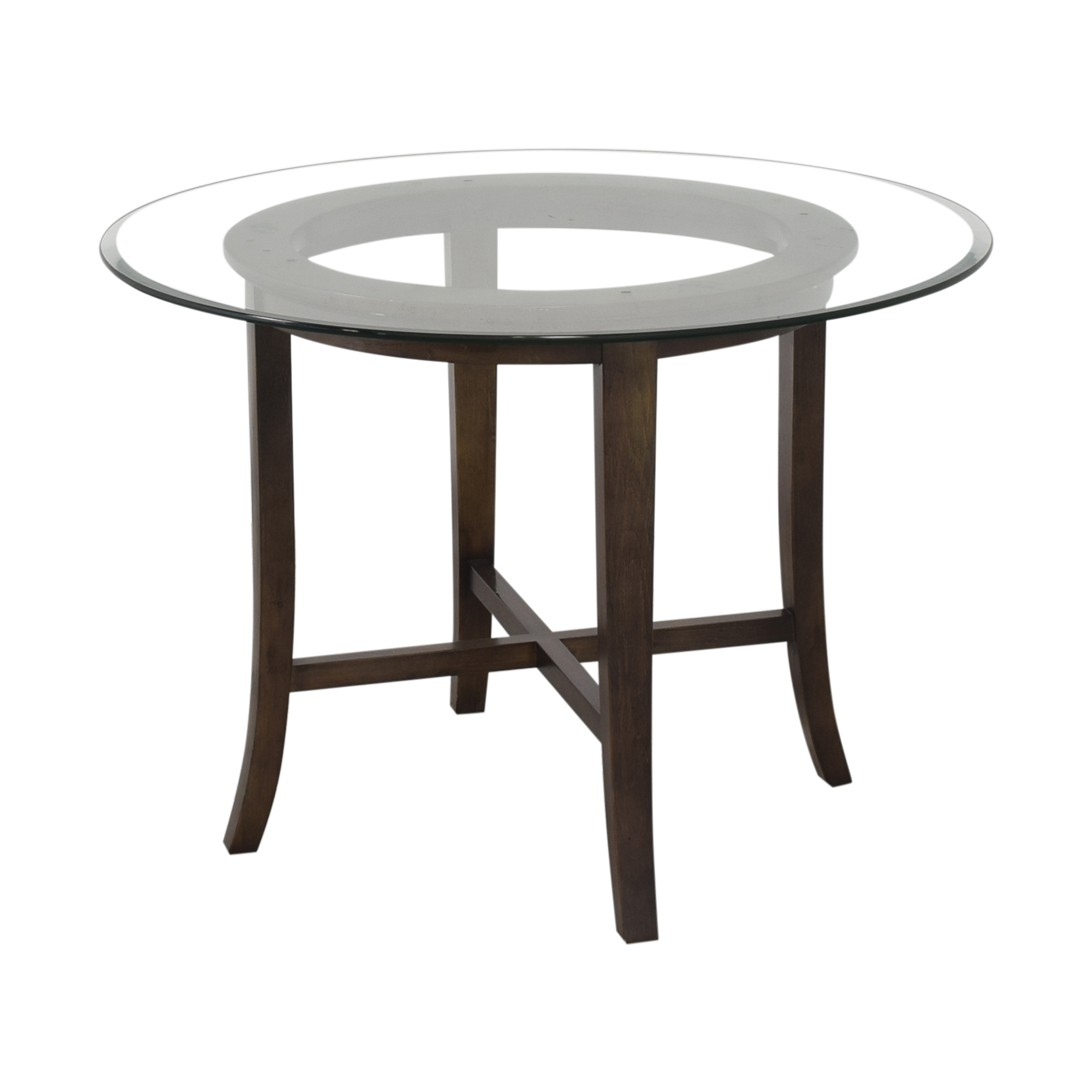 shop Crate & Barrel Halo Dining Table Crate & Barrel Tables