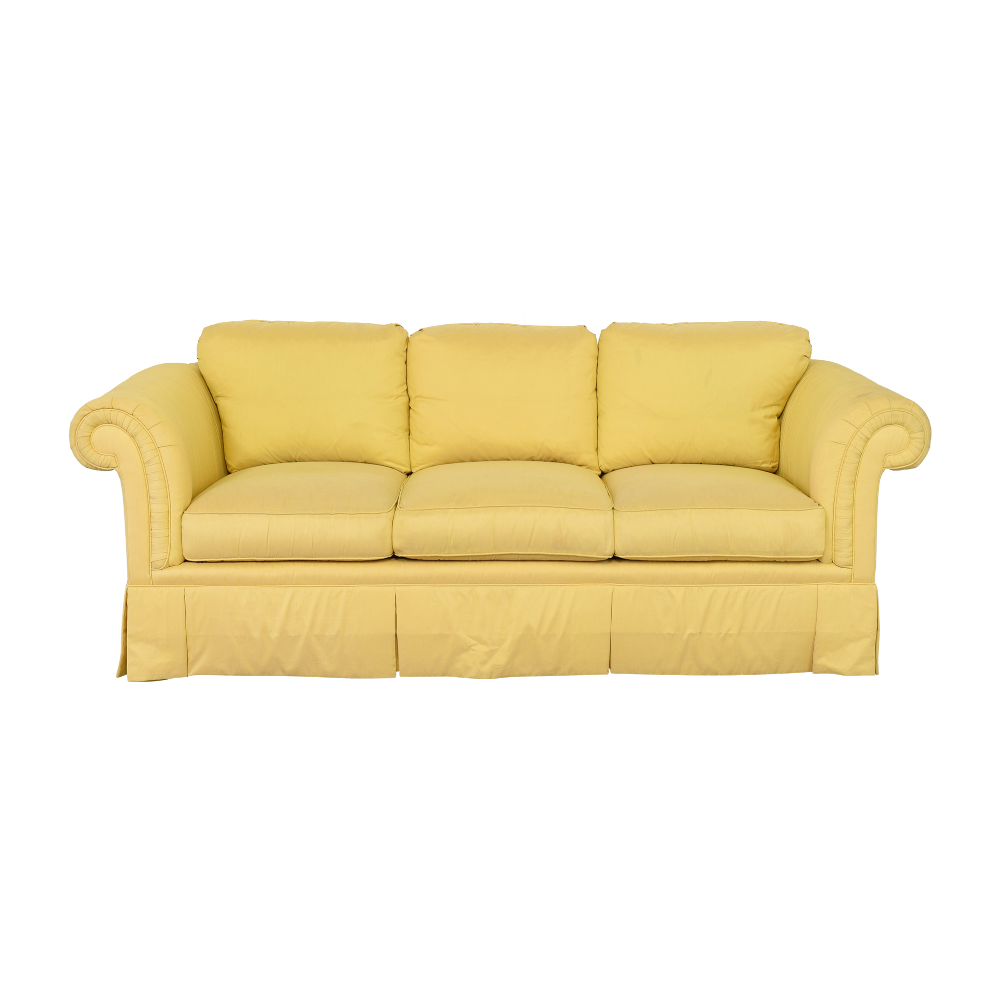 Drexel Heritage Three Cushion Sofa Drexel Heritage