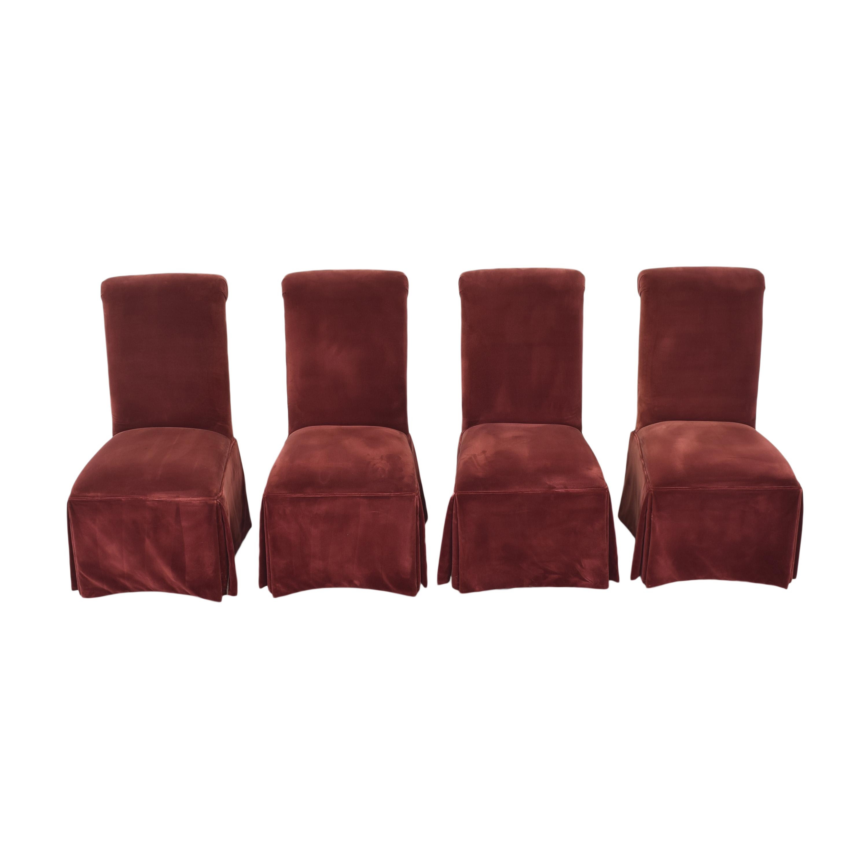Lane Furniture Lane Skirted Dining Chairs nyc