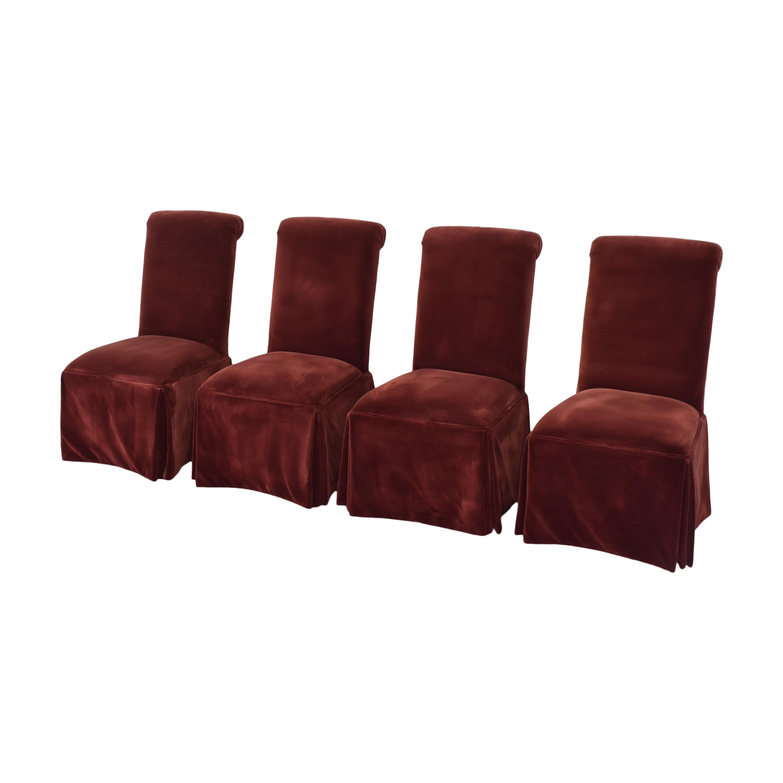 Lane Furniture Lane Skirted Dining Chairs discount