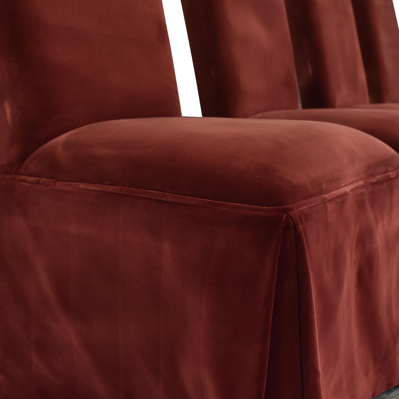 shop Lane Skirted Dining Chairs Lane Furniture