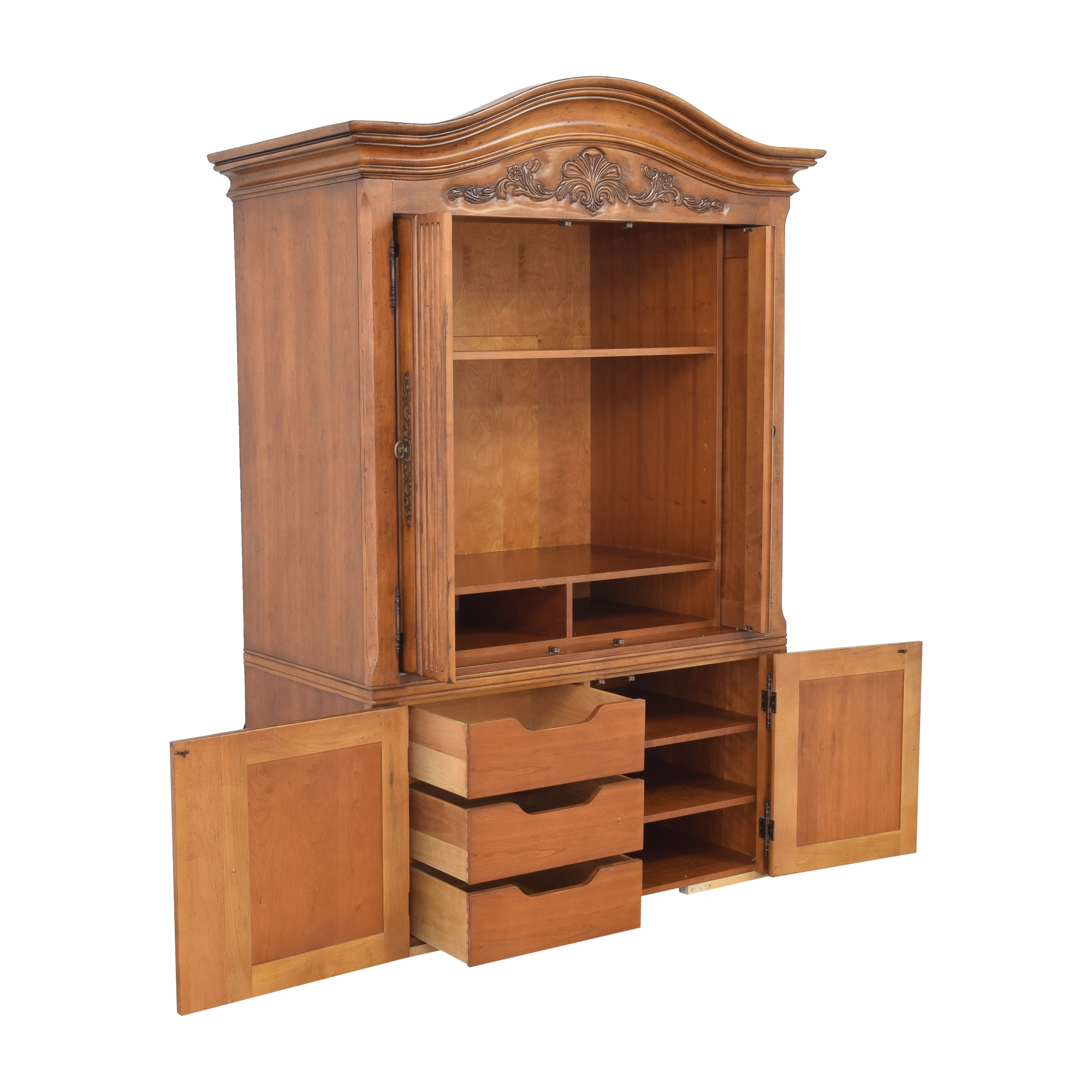 Century Furniture Century Furniture Media Armoire with Drawers on sale
