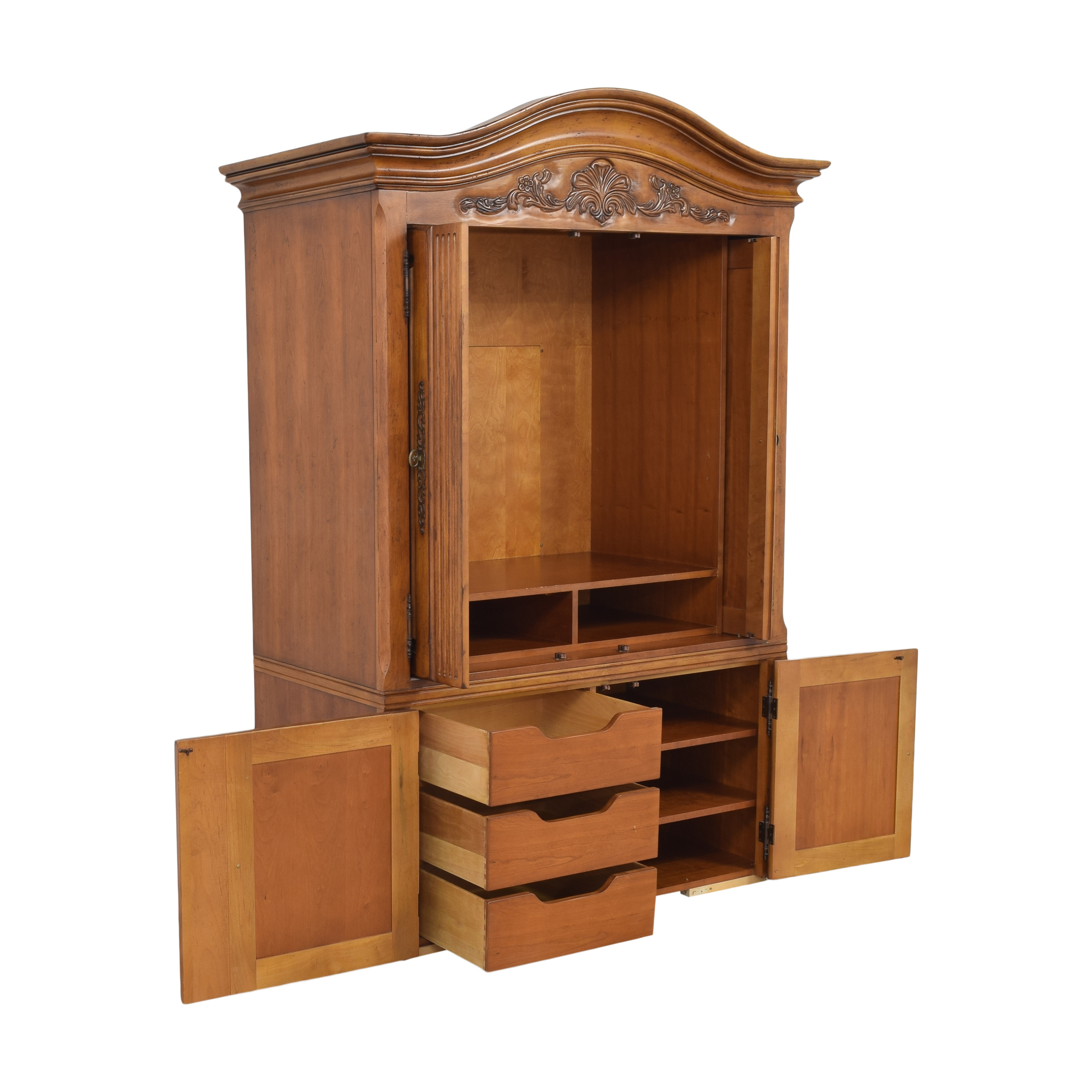 Century Furniture Century Furniture Media Armoire with Drawers